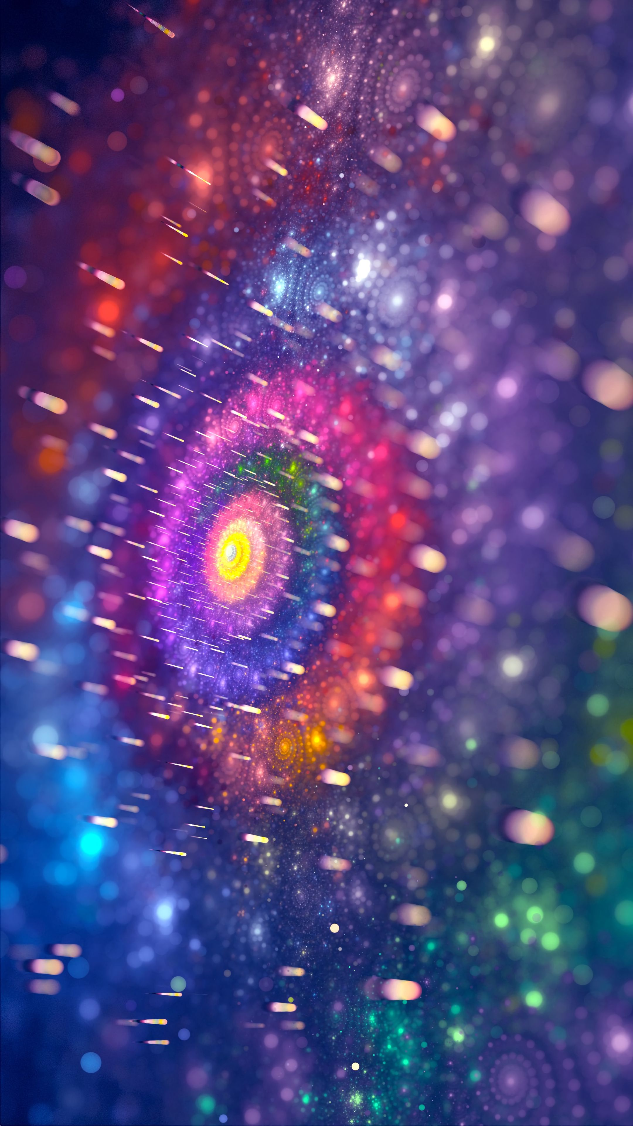 105694 download wallpaper Abstract, Fractal, Shine, Brilliance, Circles, Multicolored, Motley, Patterns screensavers and pictures for free