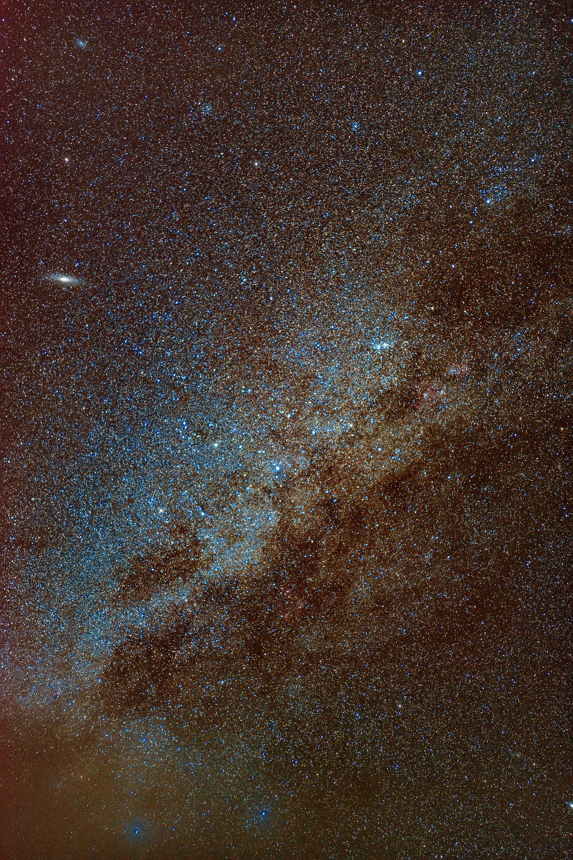 73365壁紙のダウンロード星空, 天の川, 銀河, 宇宙-スクリーンセーバーと写真を無料で