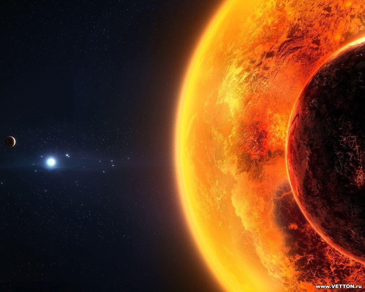 13518 скачать обои Пейзаж, Планеты, Космос, Солнце - заставки и картинки бесплатно