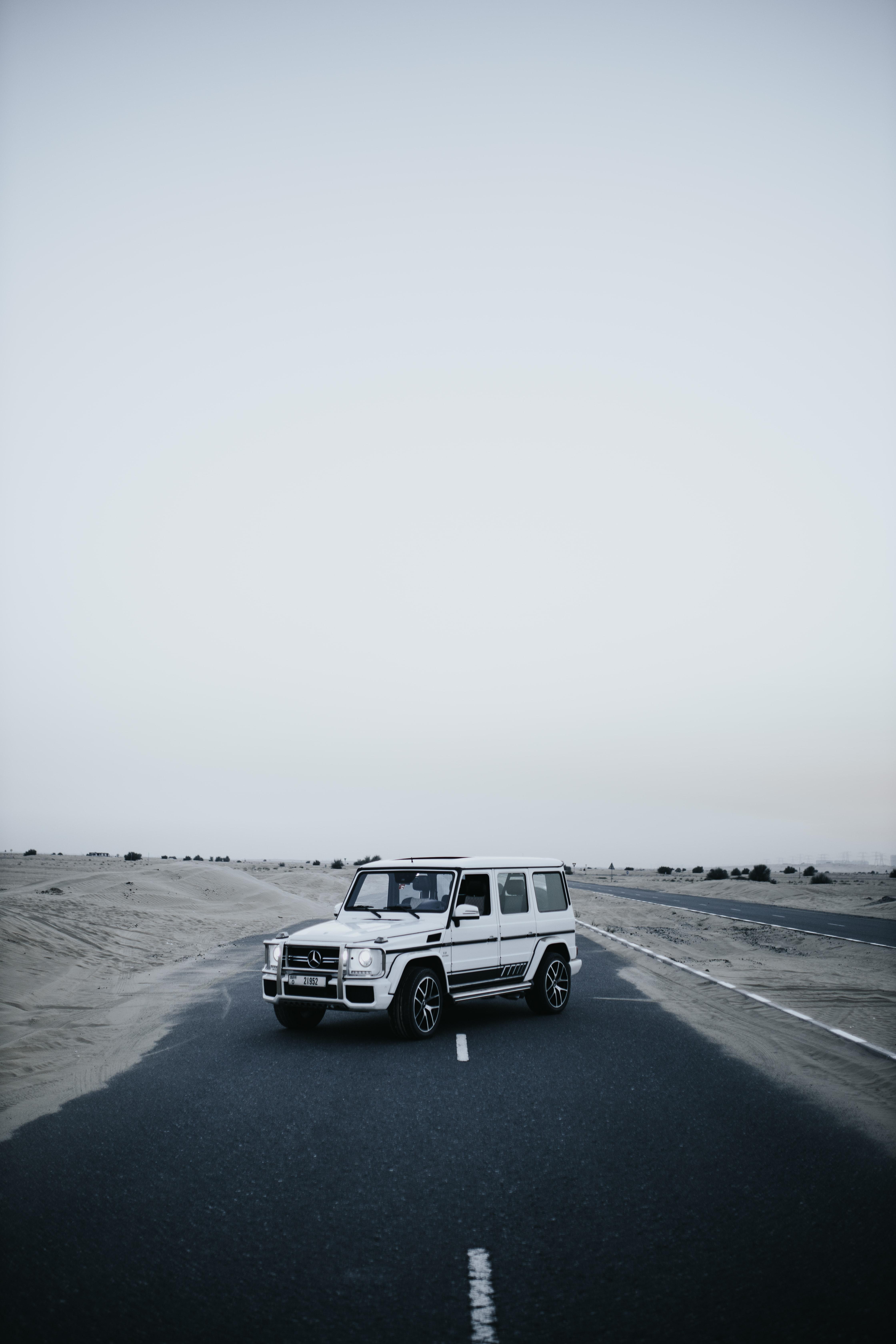 95022 Hintergrundbild herunterladen Auto, Mercedes, Wüste, Cars, Straße, Wagen, Suv - Bildschirmschoner und Bilder kostenlos