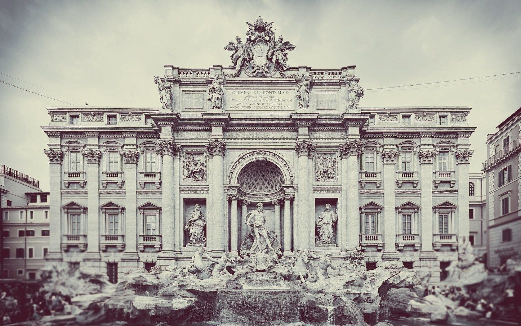 104176 Screensavers and Wallpapers Fountain for phone. Download Cities, Art, Fountain, City, Building, Structure, Monument pictures for free