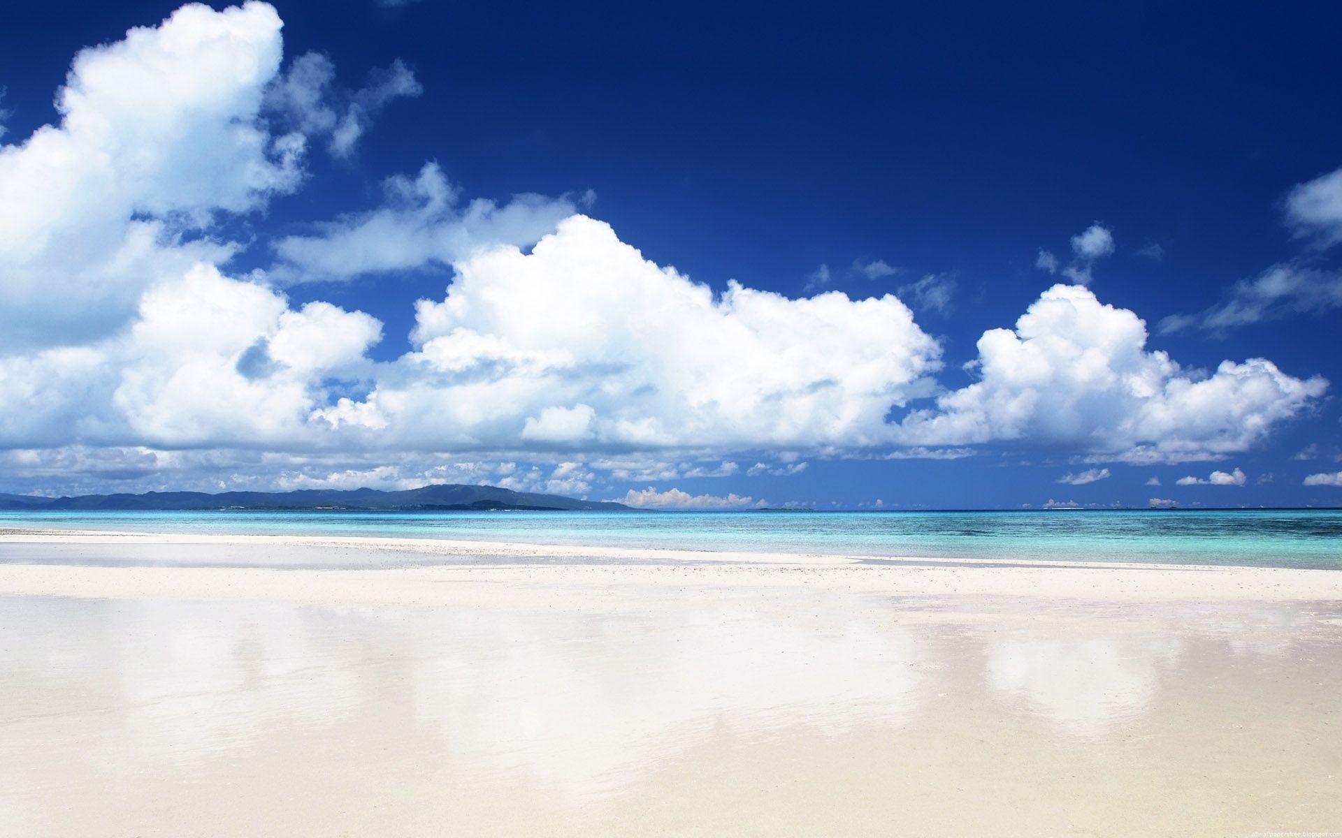 26901 免費下載壁紙 景观, 海, 云, 海滩 屏保和圖片