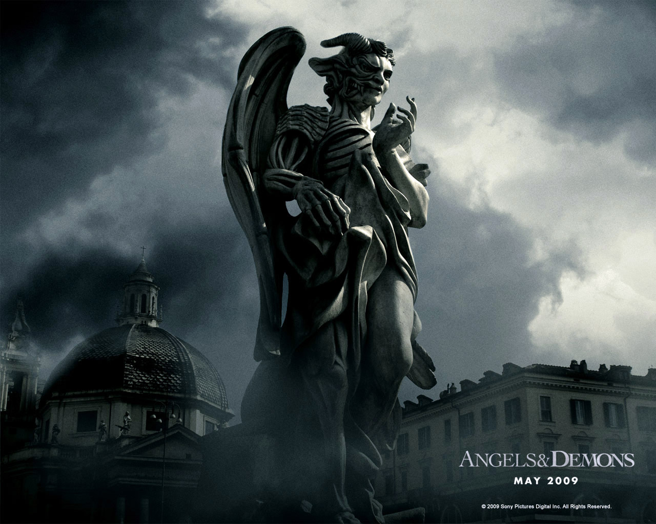 21224 download wallpaper Cinema, Angels And Demons screensavers and pictures for free