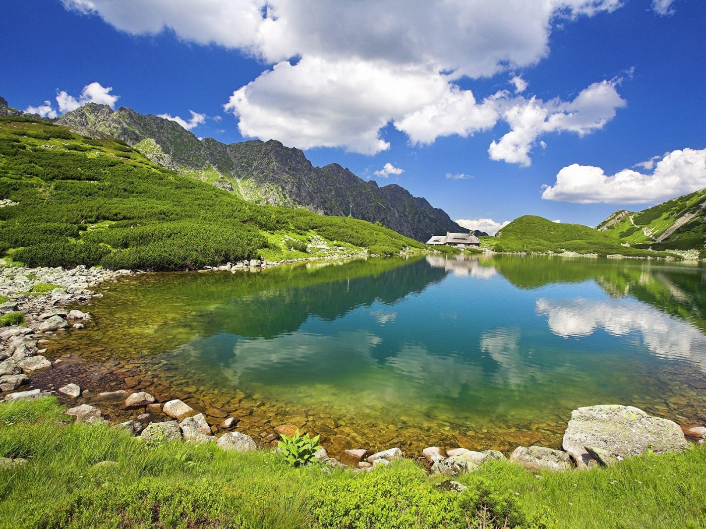 34702 download wallpaper Landscape, Lakes screensavers and pictures for free