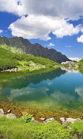 34702 скачать обои Пейзаж, Озера - заставки и картинки бесплатно