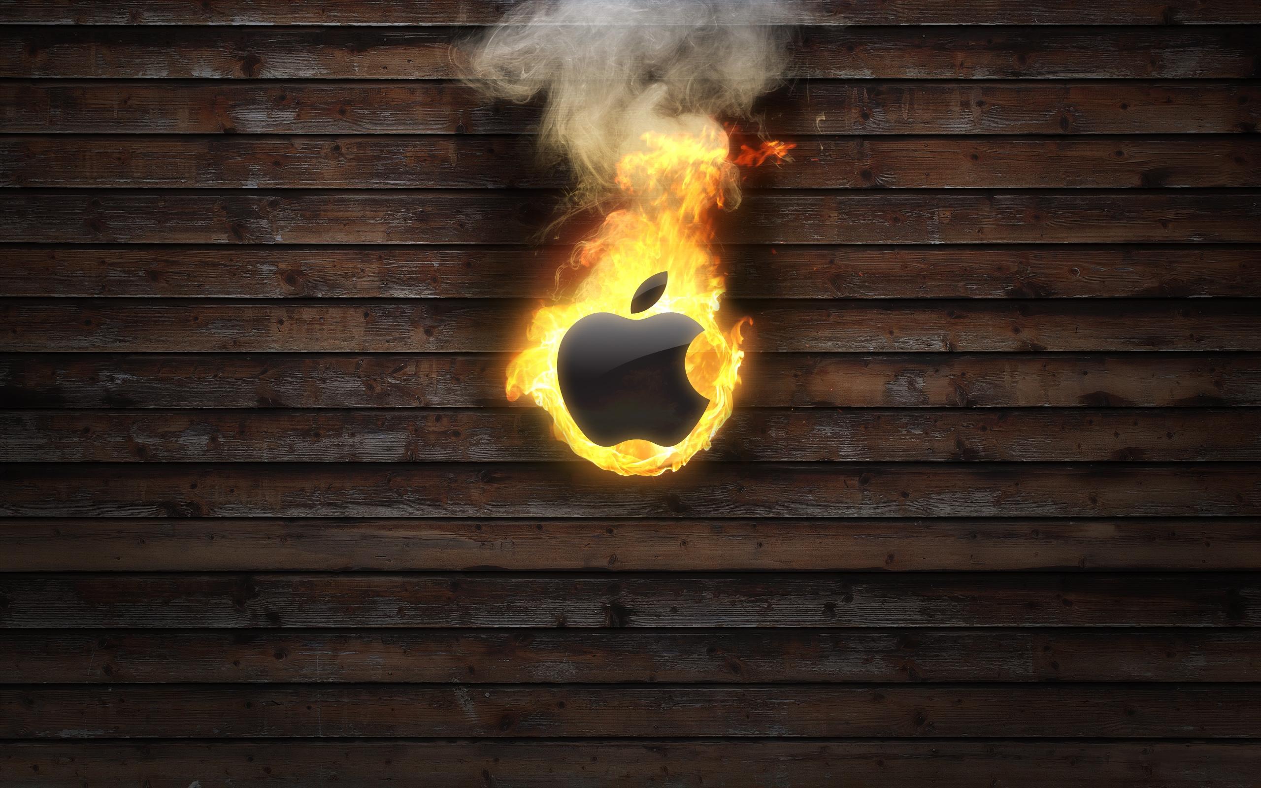 32674 Hintergrundbild herunterladen Apple-, Marken, Logos - Bildschirmschoner und Bilder kostenlos
