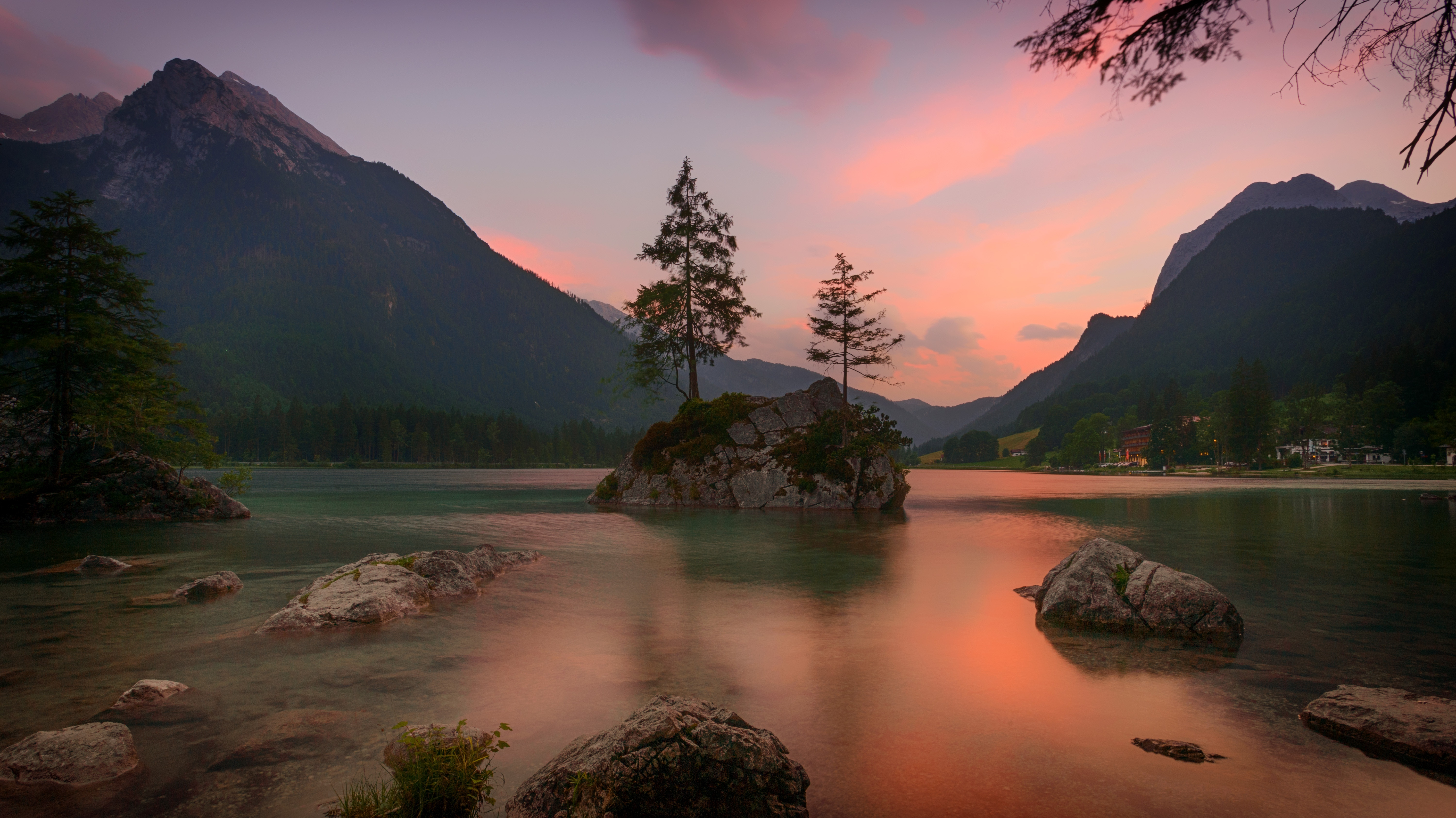 128060 Screensavers and Wallpapers Rocks for phone. Download Nature, Trees, Mountains, Rocks, Lake, Germany, Ramsau Bei Berchtesgaden, Ramzau-Bai-Berkhtesgaden pictures for free