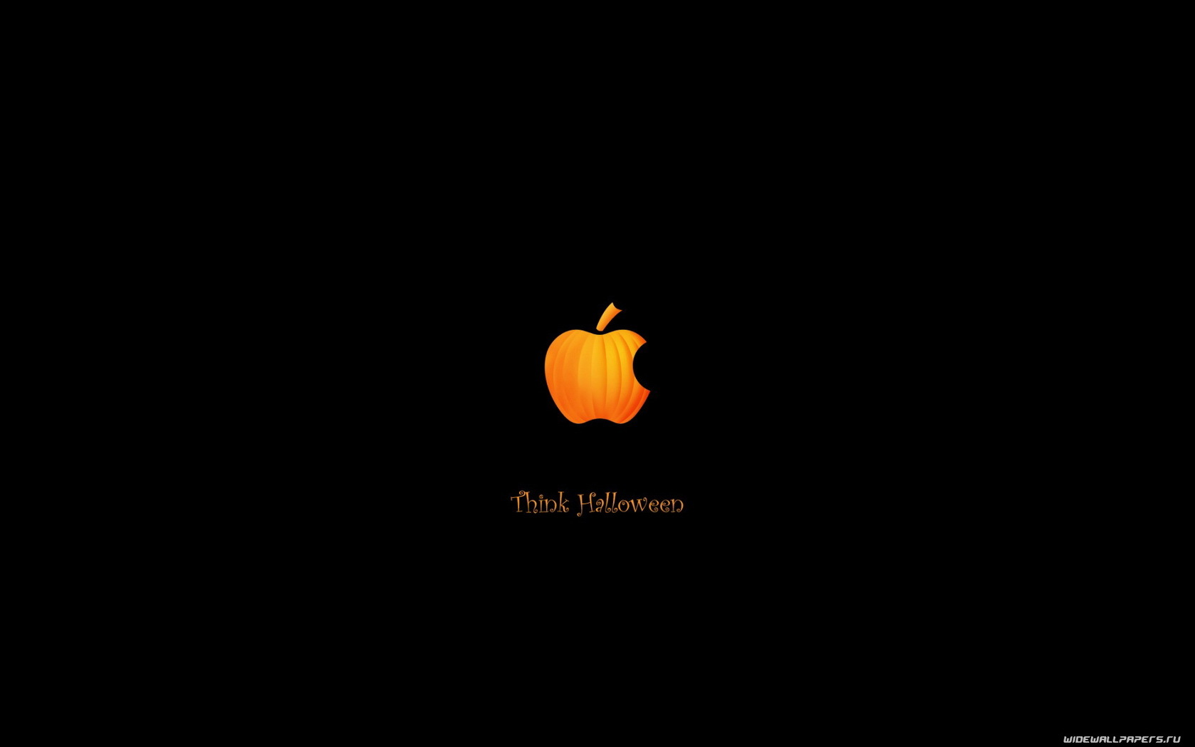 64 download wallpaper Funny, Holidays, Brands, Logos, Apple, Halloween screensavers and pictures for free