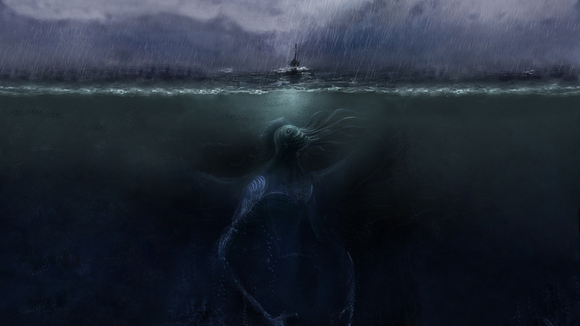 32331 Screensavers and Wallpapers Demons for phone. Download Fantasy, Sea, Demons pictures for free