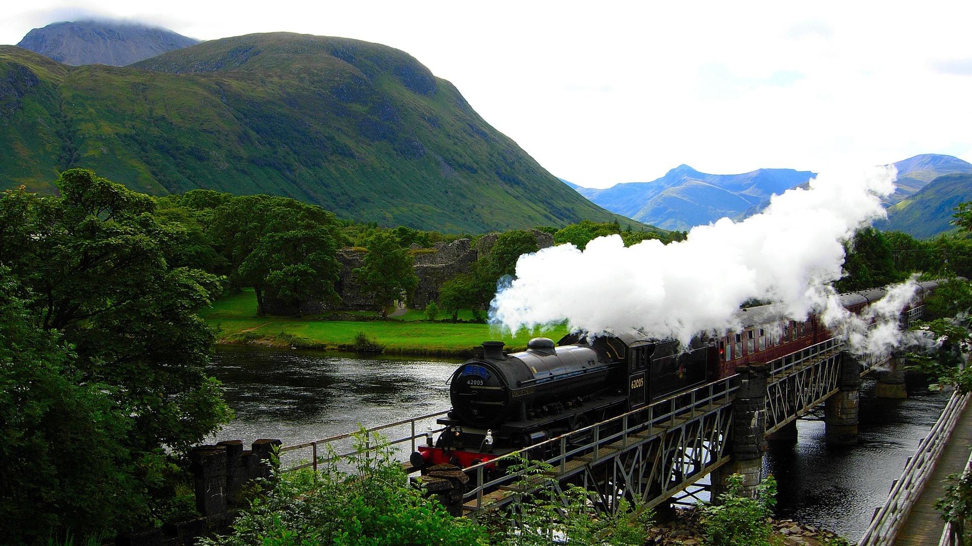 38093壁紙のダウンロード輸送, 列車-スクリーンセーバーと写真を無料で