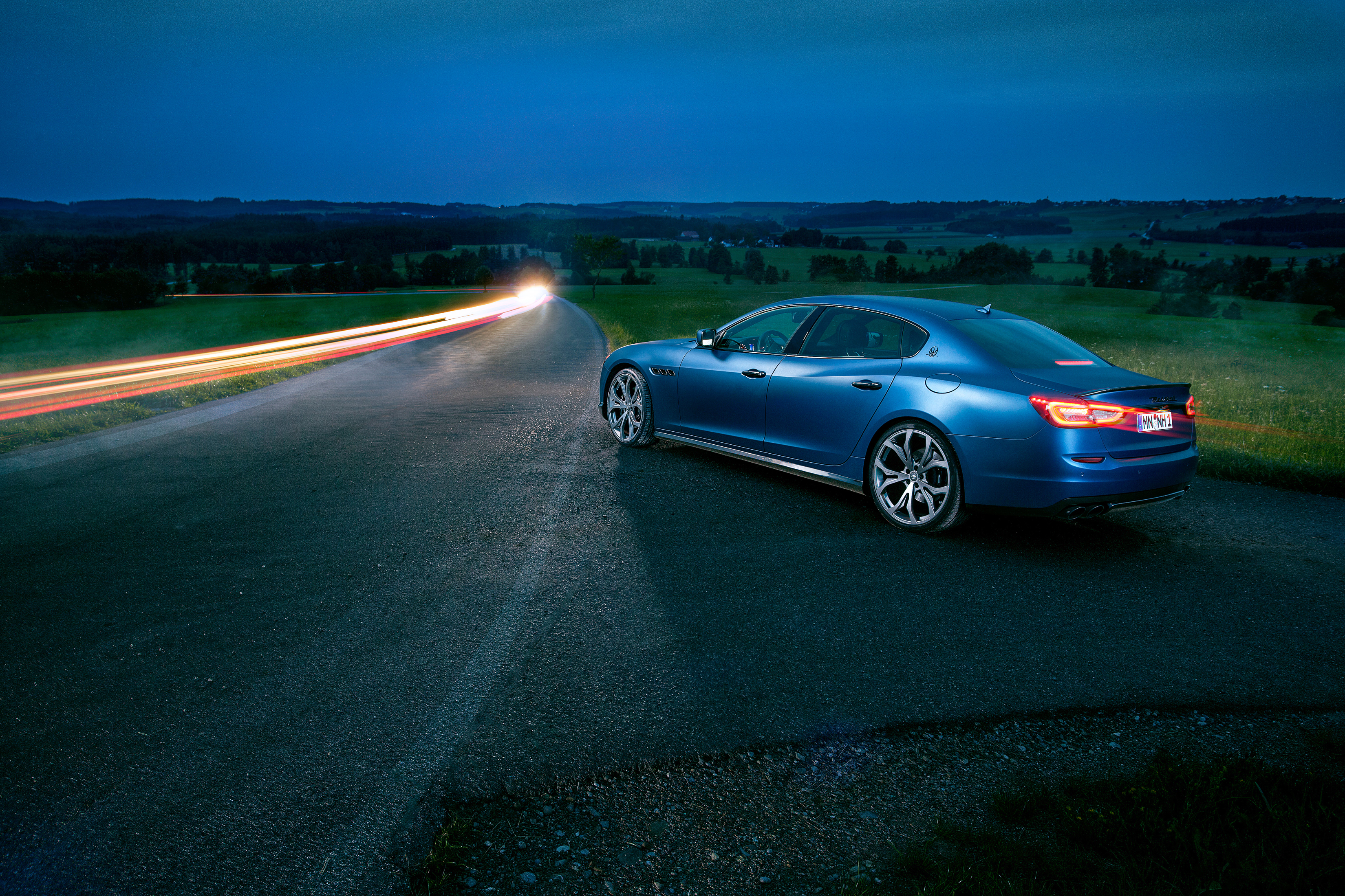 156671 download wallpaper Cars, Maserati, Quattroporte, Novitec, Side View, Excerpt screensavers and pictures for free