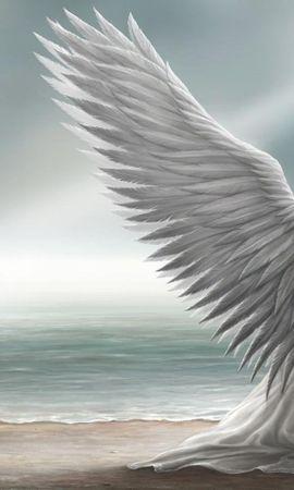 33106 baixar papel de parede Meninas, Fantasia, Anjos - protetores de tela e imagens gratuitamente
