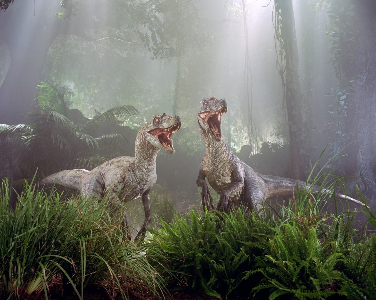 3607 download wallpaper Dinosaurs, Animals, Fantasy screensavers and pictures for free