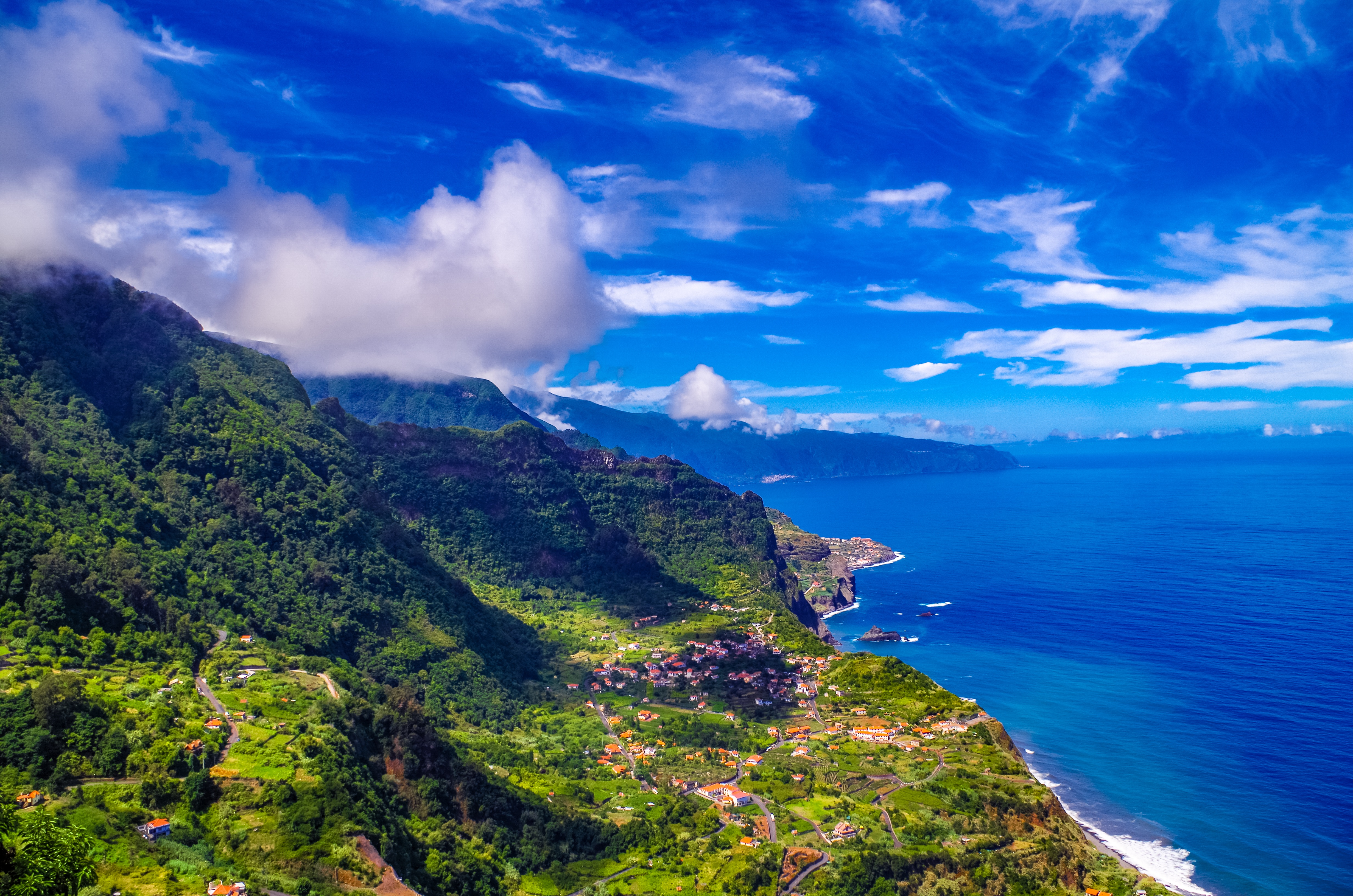 75921 Screensavers and Wallpapers Island for phone. Download Nature, Mountains, Sea, Island, Portugal, Madeira pictures for free