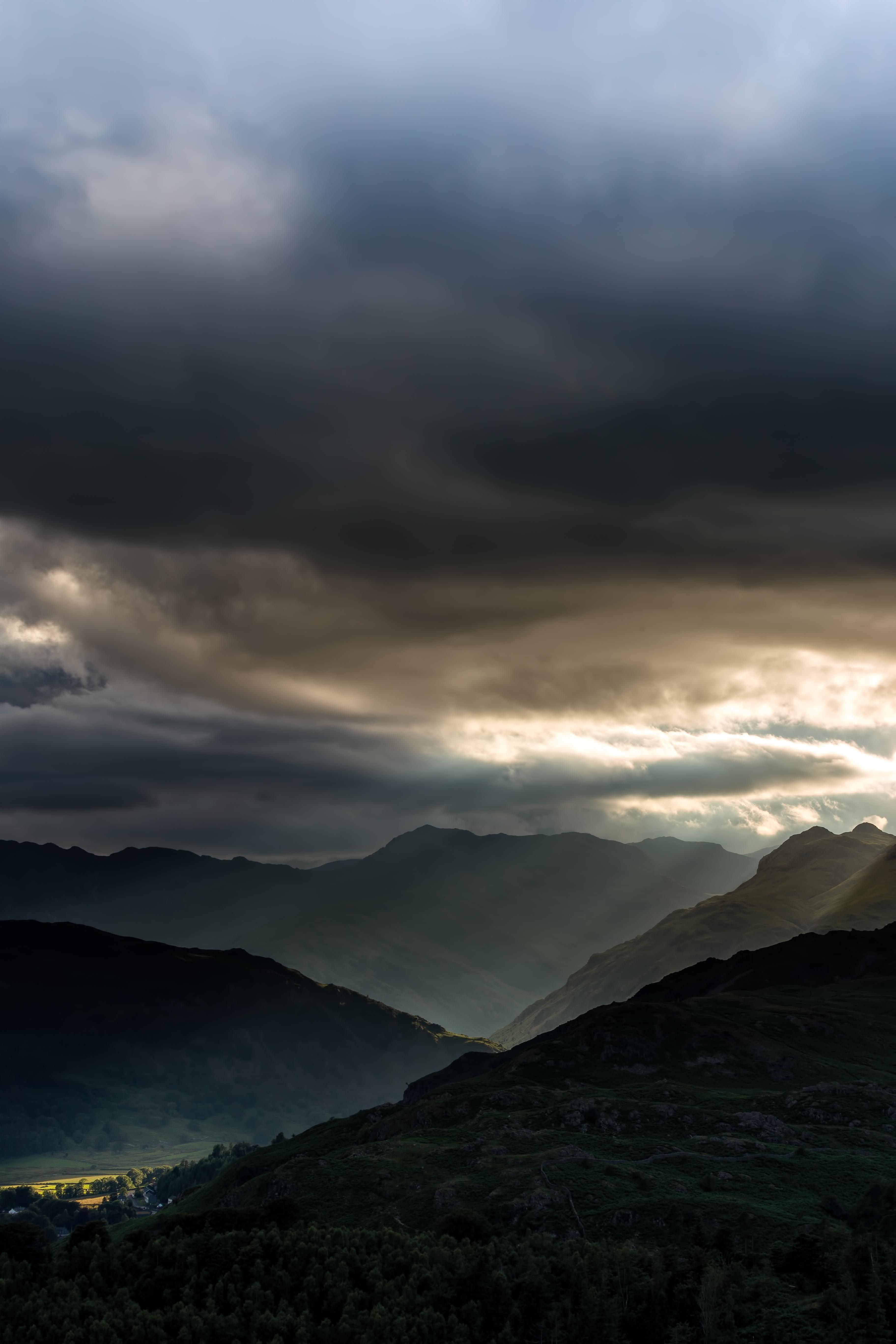 105194 économiseurs d'écran et fonds d'écran Sombre sur votre téléphone. Téléchargez Sombre, Nature, Sky, Montagnes, Forêt, Tristement images gratuitement