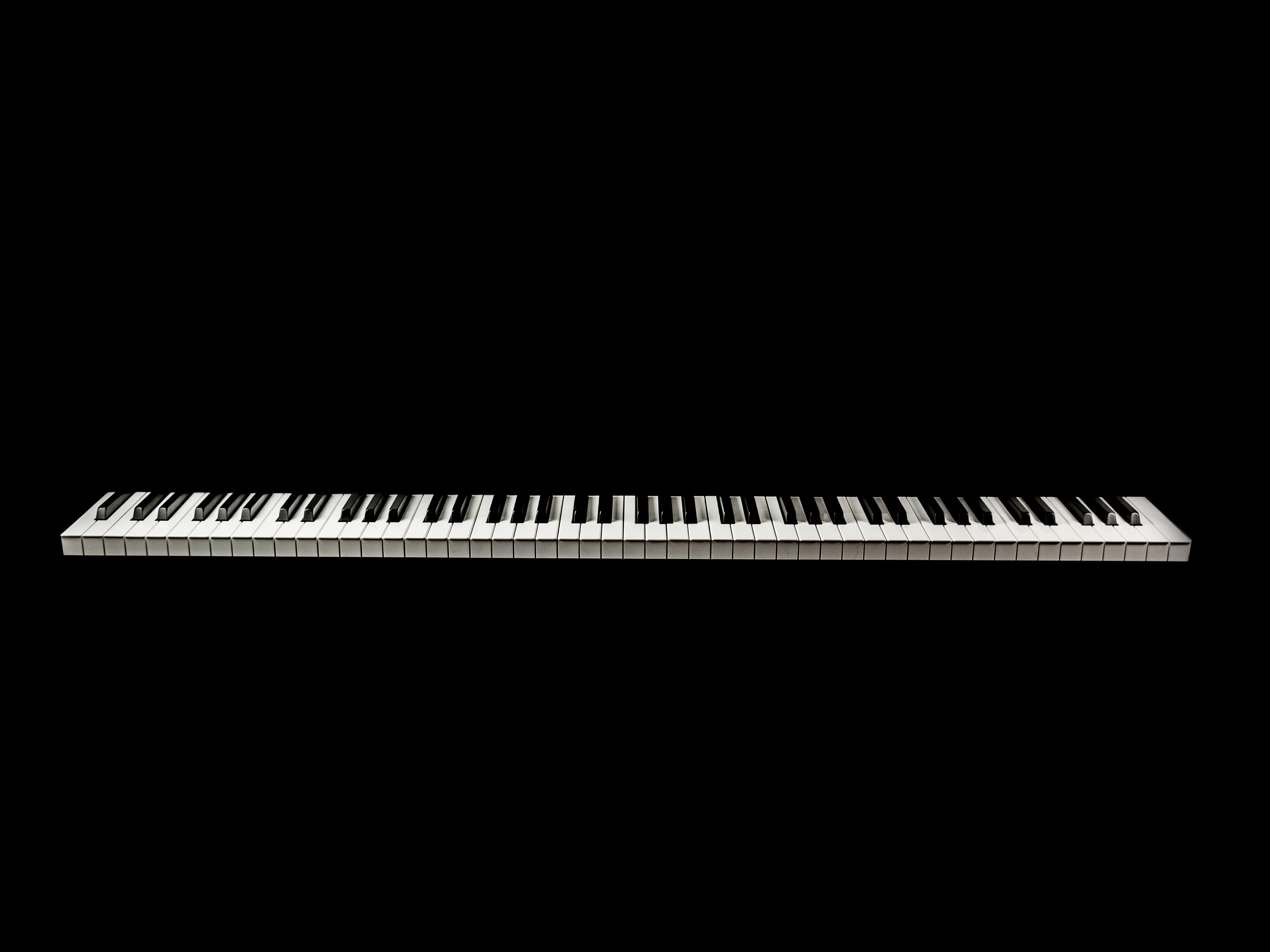 129459 baixar papel de parede Música, Piano, Minimalismo, Bw, Chb, Chaves - protetores de tela e imagens gratuitamente