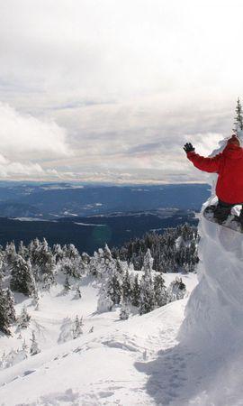 12939 скачать обои Спорт, Горы, Снег, Сноубординг - заставки и картинки бесплатно