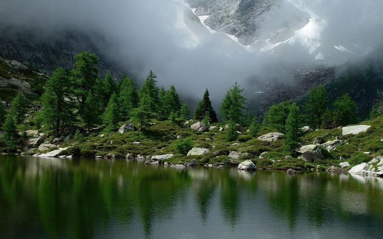 47359 télécharger le fond d'écran Paysage, Nature, Montagnes, Lacs - économiseurs d'écran et images gratuitement
