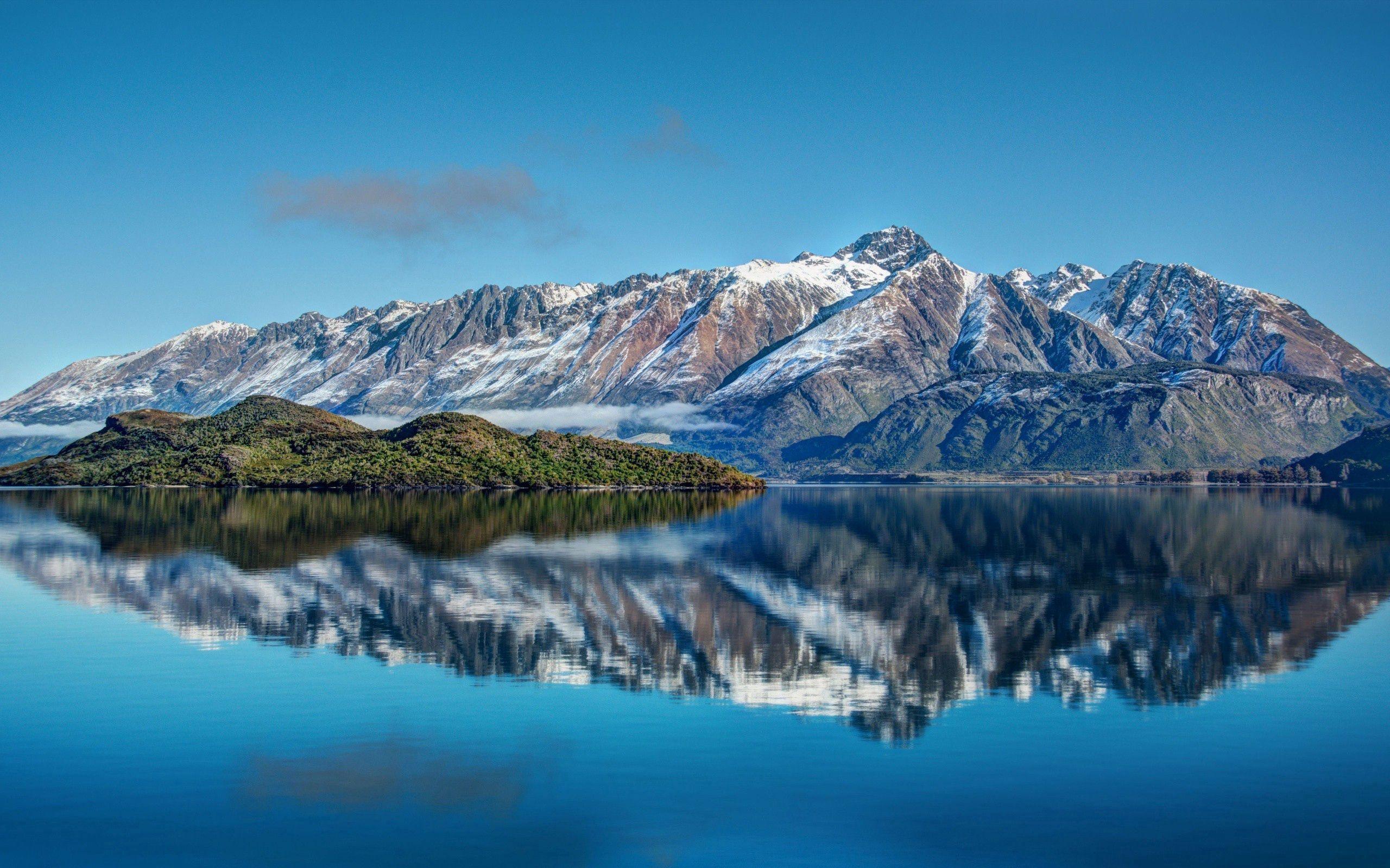 66753 descargar fondo de pantalla Naturaleza, Nueva Zelanda, Ríos, Mar, Cielo, Montañas, Paisaje: protectores de pantalla e imágenes gratis