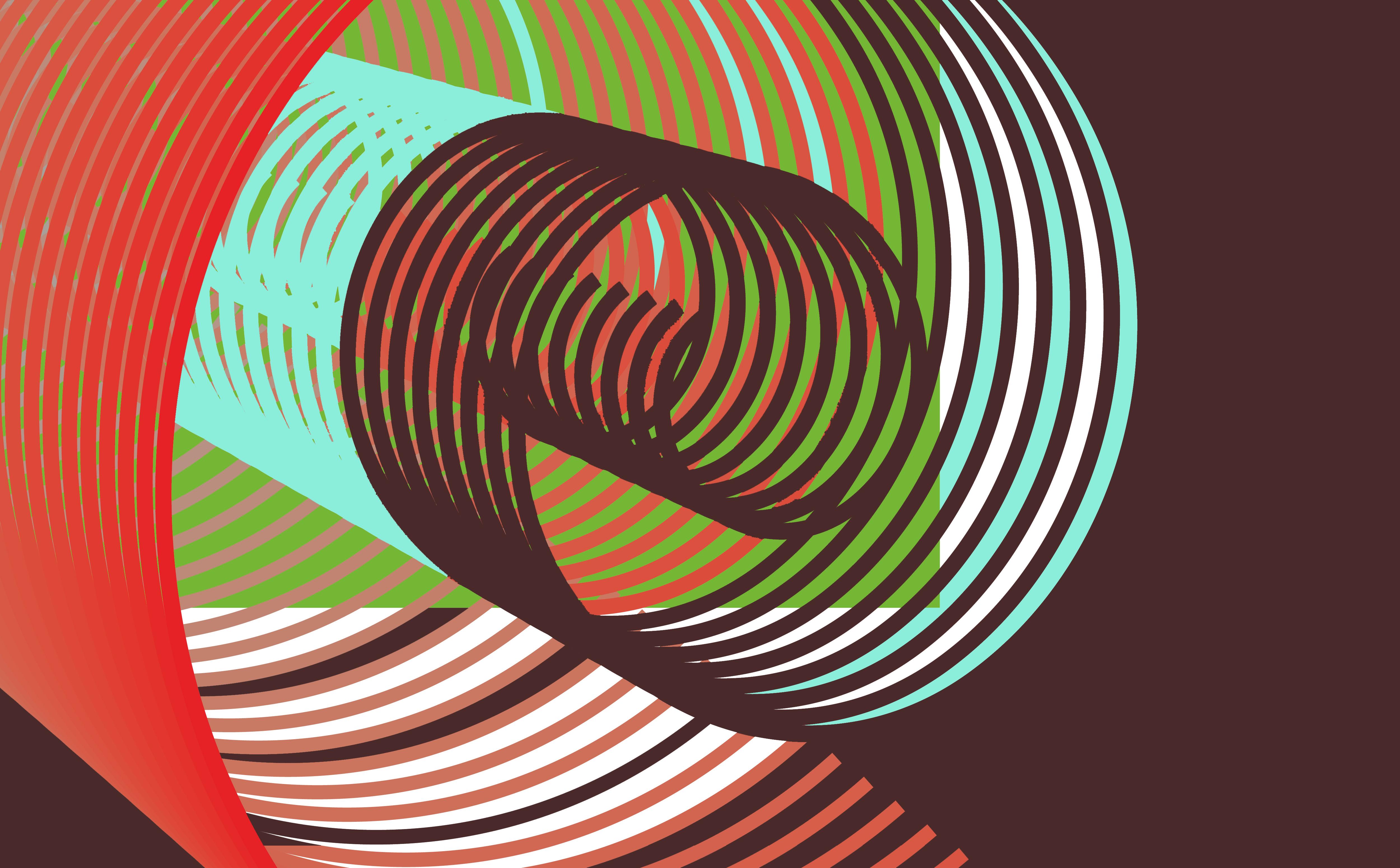 57519壁紙のダウンロード抽象, 線, 台詞, 回転, 自転, イリュージョン, 幻, カラフル-スクリーンセーバーと写真を無料で