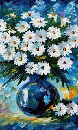 17565 descargar fondo de pantalla Plantas, Flores, Camomila, Imágenes, Naturaleza Muerta: protectores de pantalla e imágenes gratis