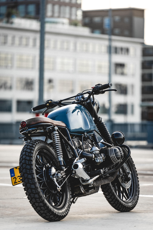 78284 скачать обои Мотоциклы, Bmw R80, Бмв (Bmw), Мотоцикл, Байк, Синий, Вид Сбоку - заставки и картинки бесплатно