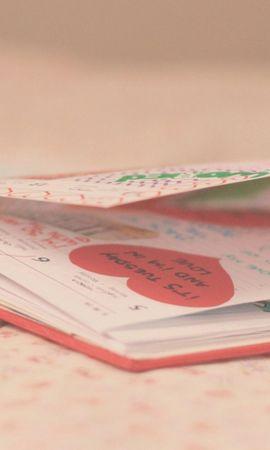 78867 завантажити шпалери Любов, Блокнот, Книга, Малюнки, Записи, Запис - заставки і картинки безкоштовно