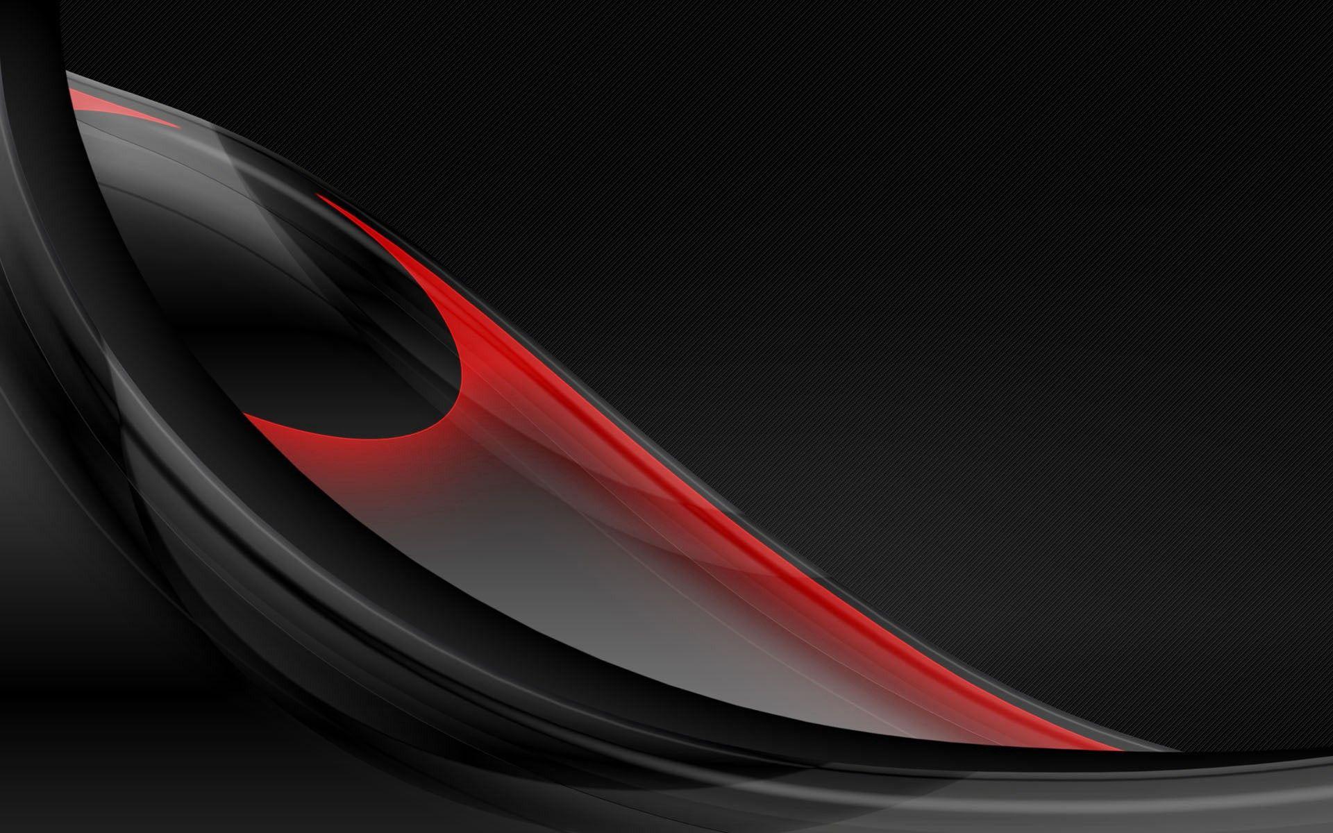 113012 скачать обои Абстракция, Форма, Шар, Черный, Красный - заставки и картинки бесплатно