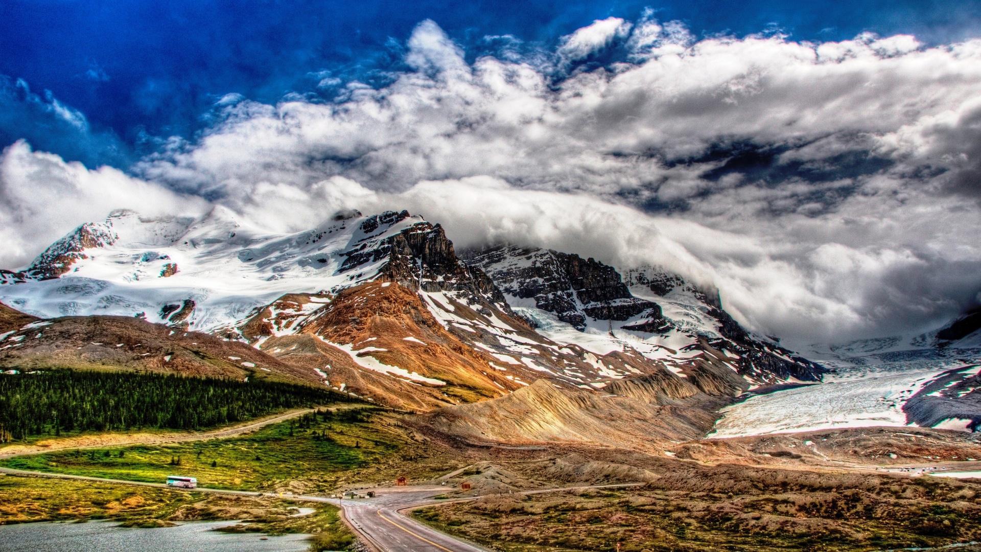 25050 скачать обои Пейзаж, Горы, Облака - заставки и картинки бесплатно