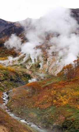 278 скачать обои Пейзаж, Река, Горы, Осень - заставки и картинки бесплатно