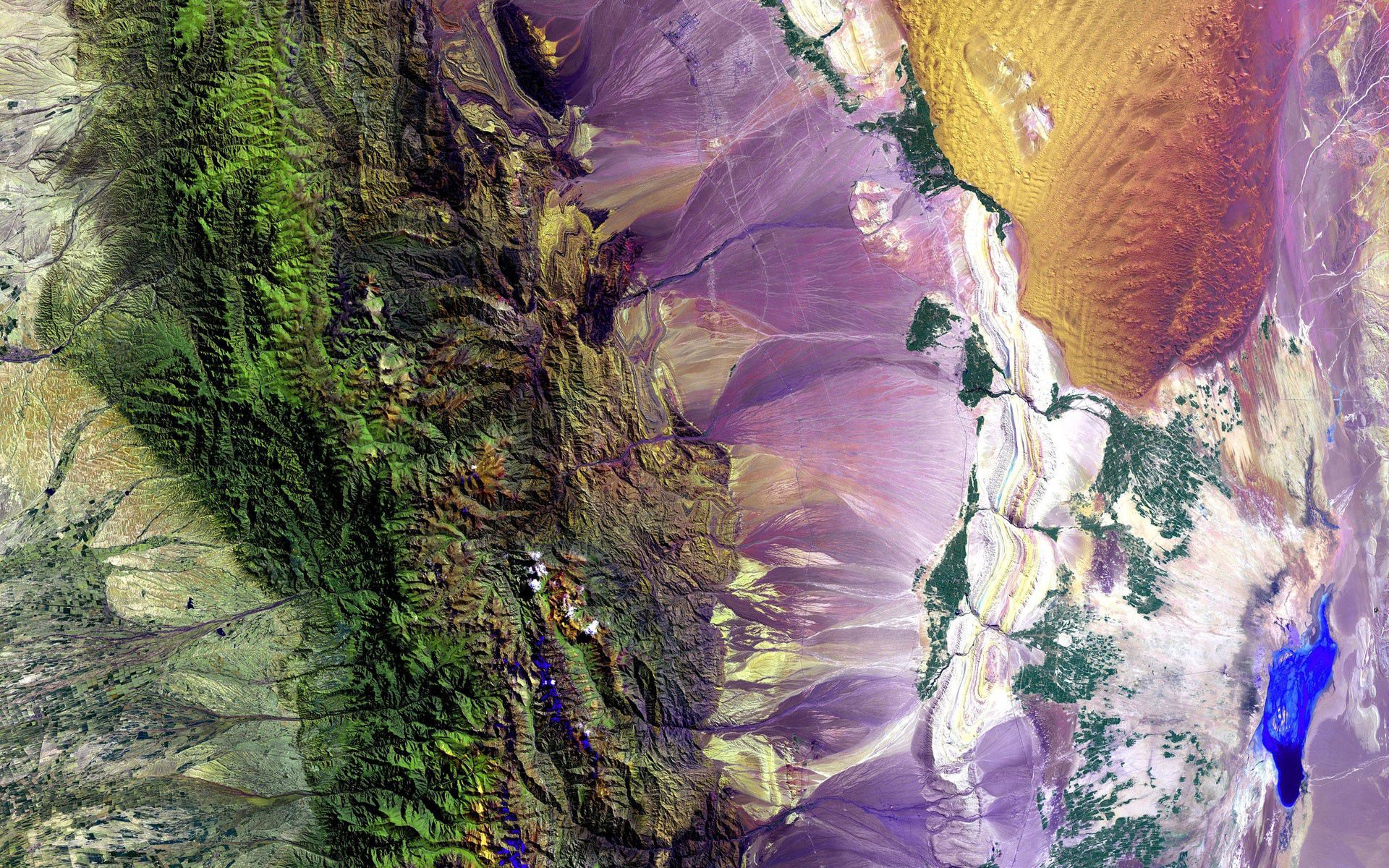 114155 免費下載壁紙 行星, 土地, 表面, 苏沙, 颜色, 多样性, 调色板, 宇宙 屏保和圖片