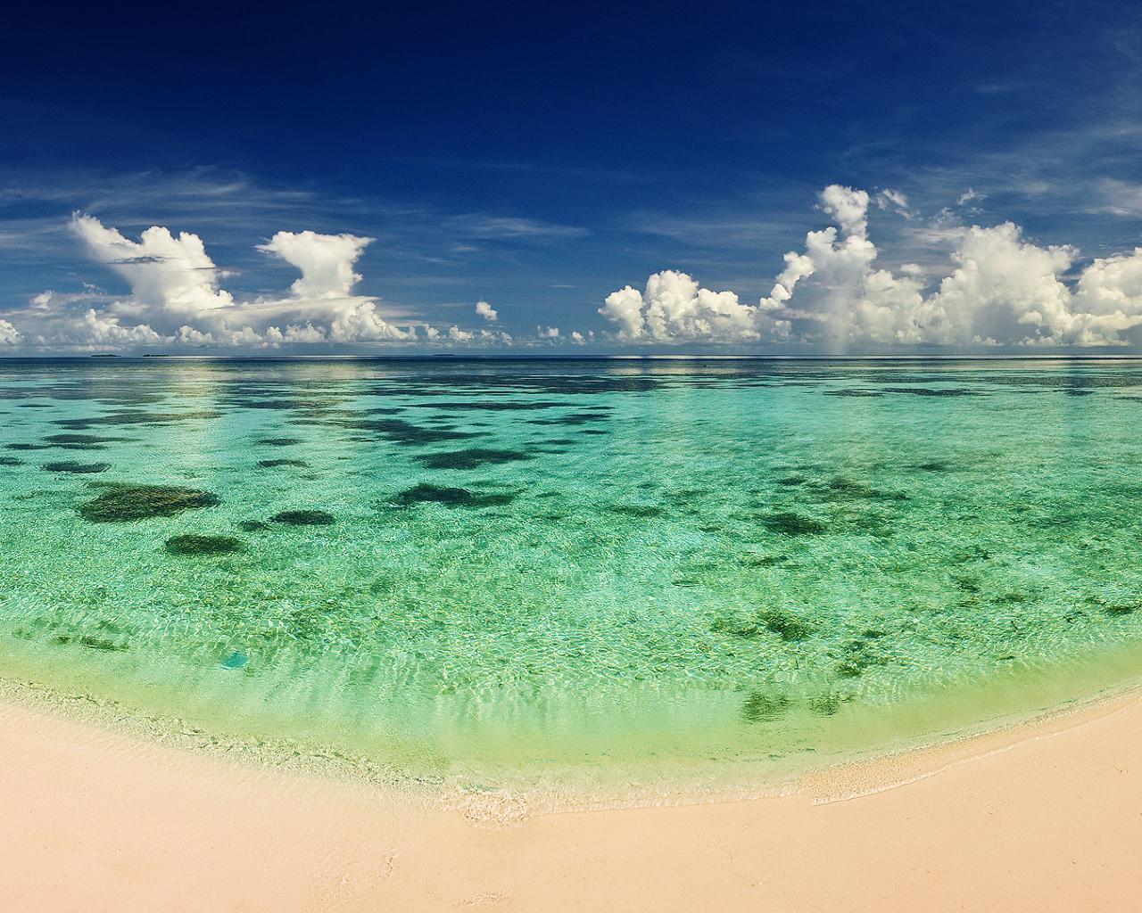 20985 скачать обои Пейзаж, Море, Облака, Пляж - заставки и картинки бесплатно