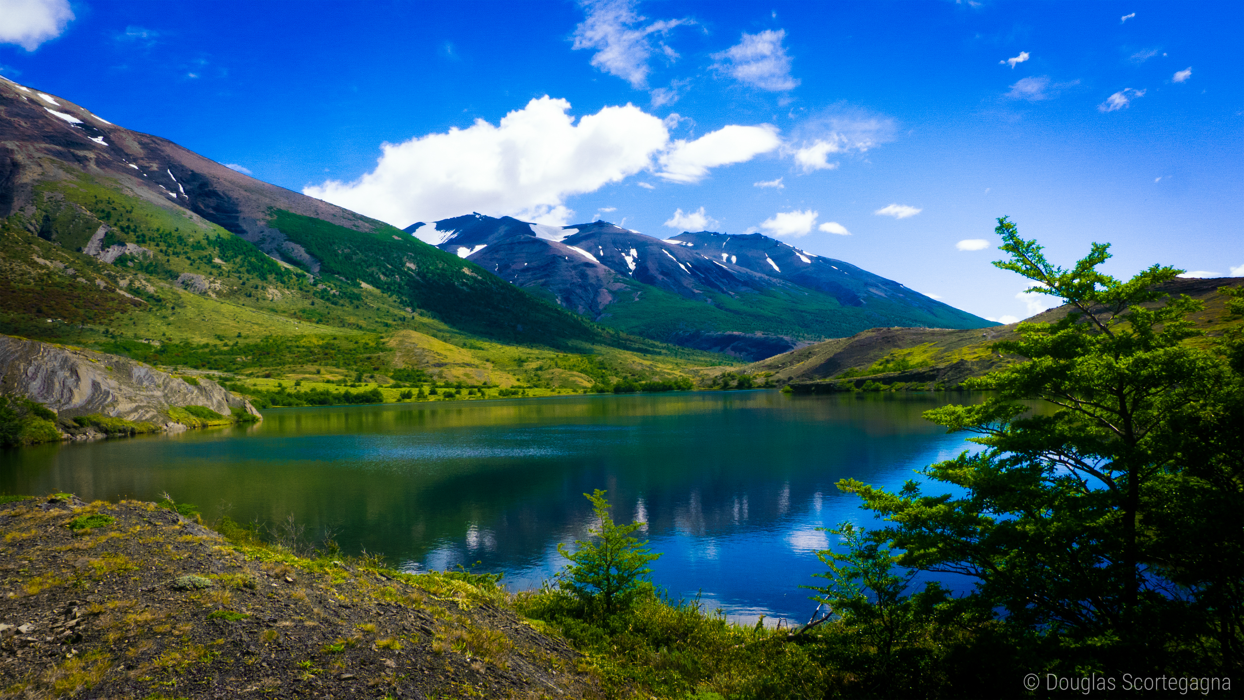 145070 Screensavers and Wallpapers Summer for phone. Download Lake, Nature, Grass, Sky, Mountains, Summer, Chile, Patagonia, Torres Del Paine, Torres Del Pine pictures for free