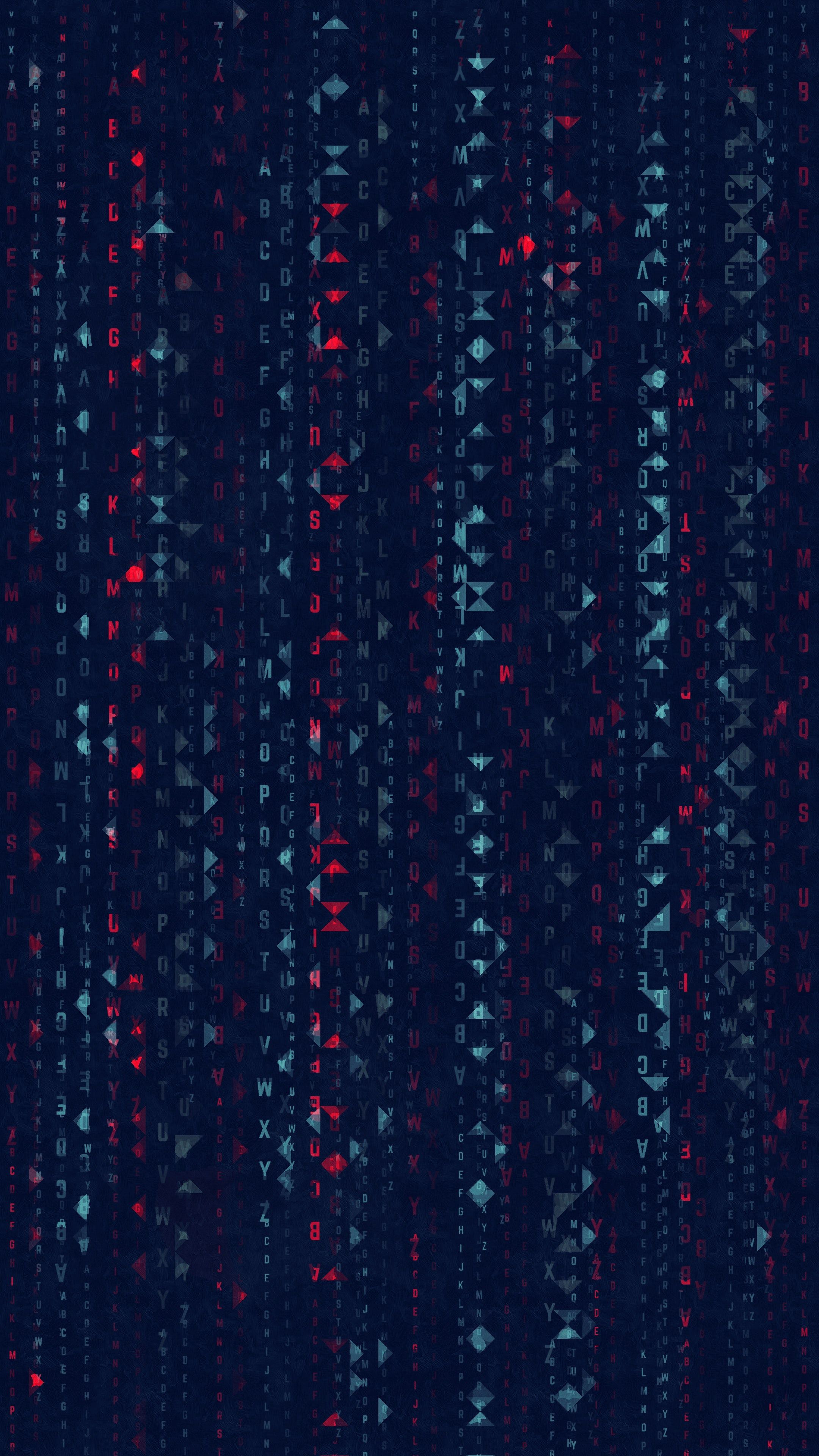 151878 Hintergrundbild herunterladen Abstrakt, Matrix, Symbole, Zeichen, Die Matrix, Briefe, Buchstaben - Bildschirmschoner und Bilder kostenlos