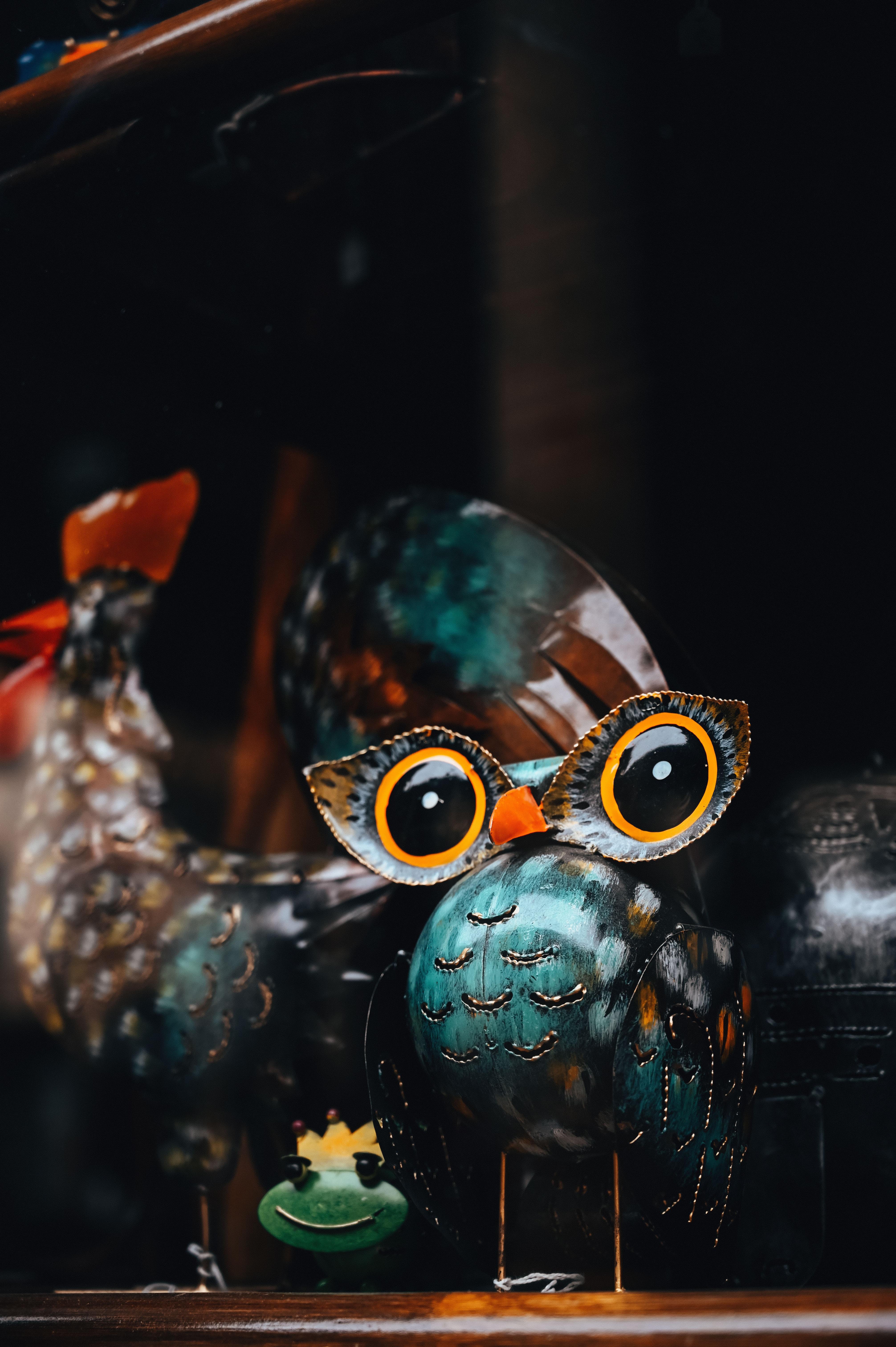 84371 download wallpaper Miscellanea, Miscellaneous, Owl, Bird, Souvenir, Ceramics, Craft, Handmade screensavers and pictures for free