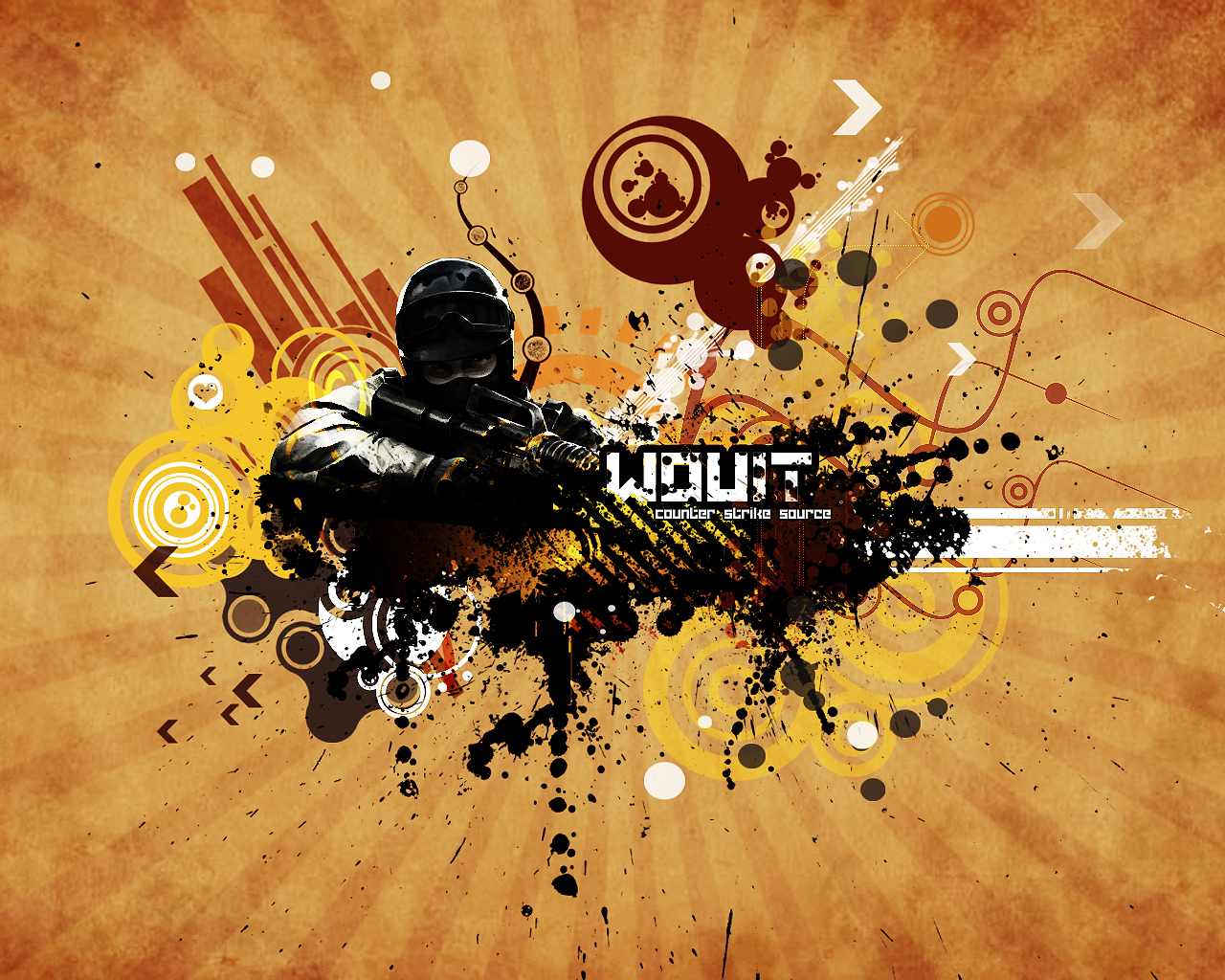 12282 download wallpaper Games, Art, Counter Strike screensavers and pictures for free