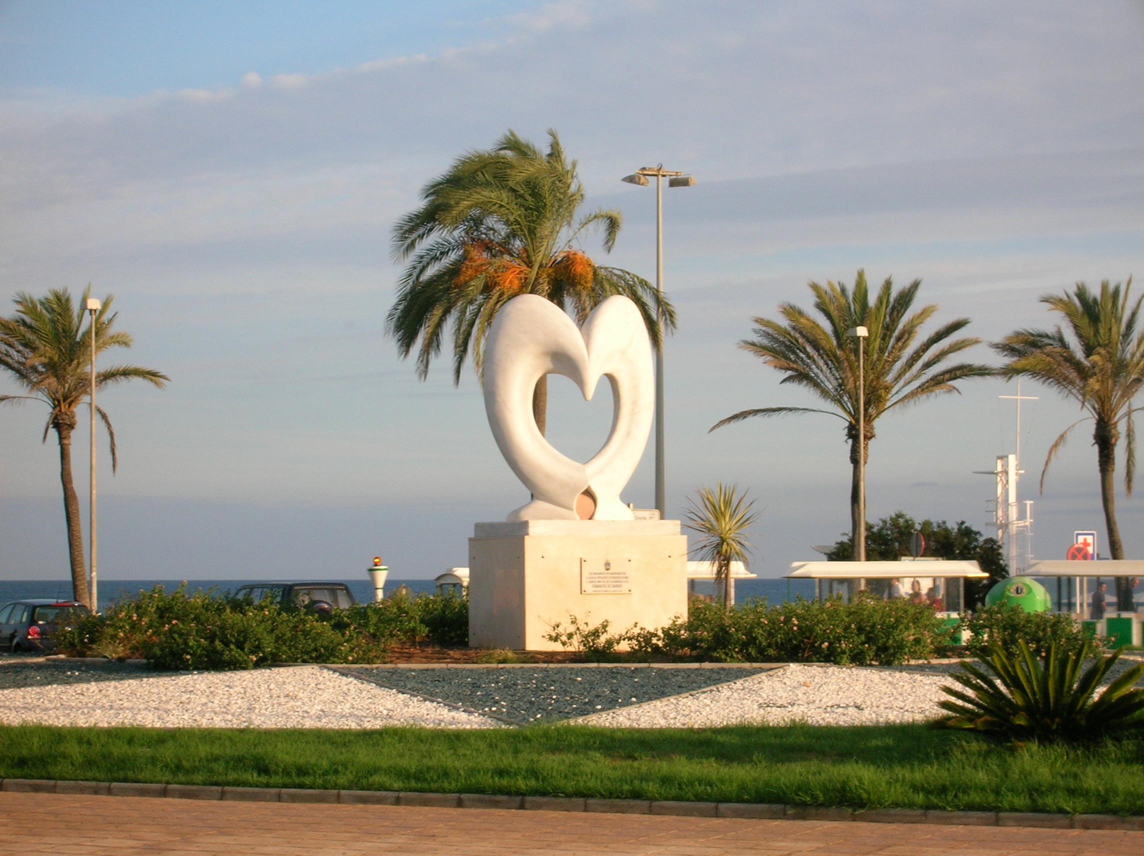 13916 скачать обои Сердца, Архитектура, Любовь, Памятники - заставки и картинки бесплатно
