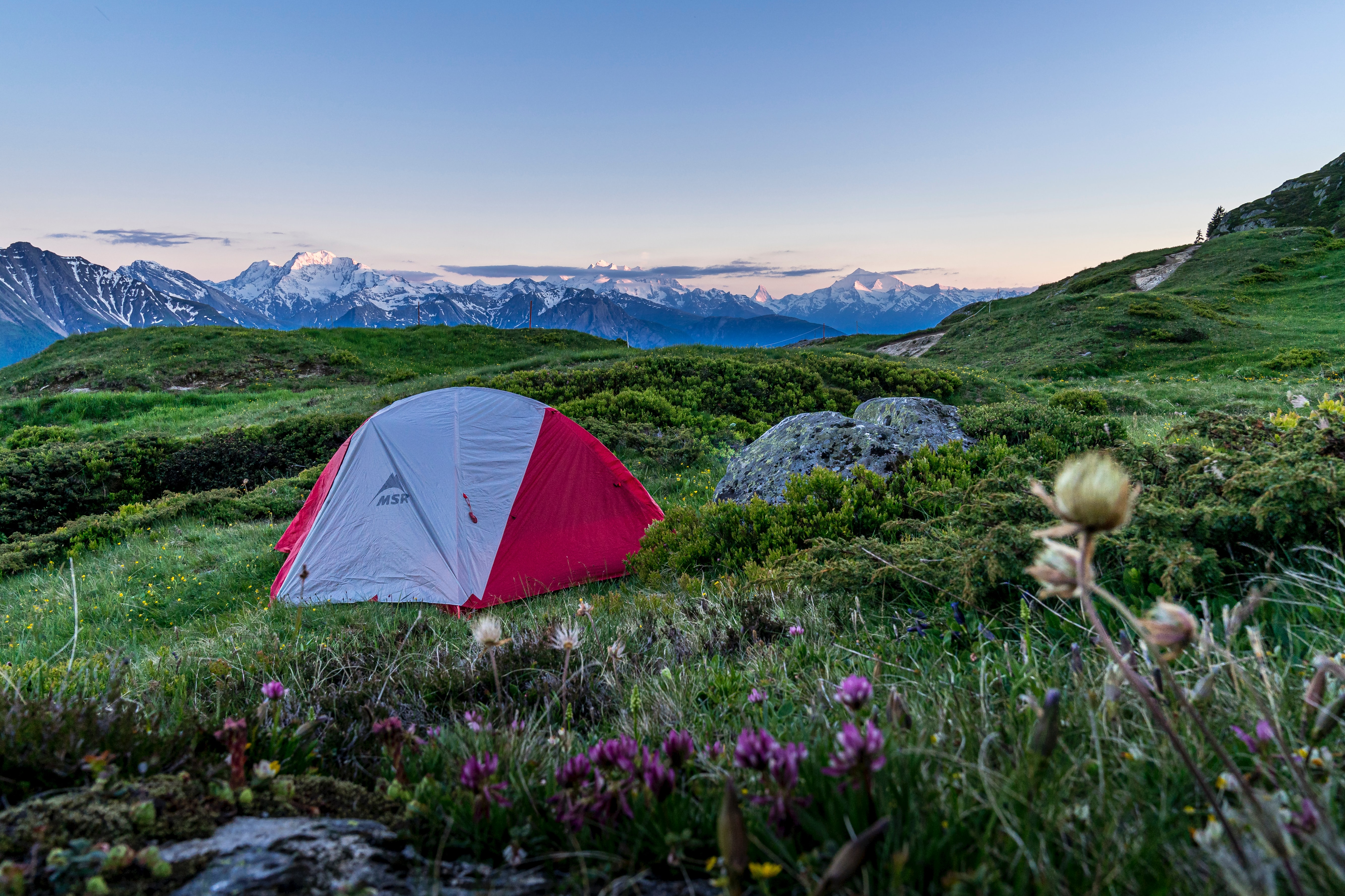 155039 download wallpaper Camping, Nature, Mountains, Lawn, Tent, Campsite screensavers and pictures for free