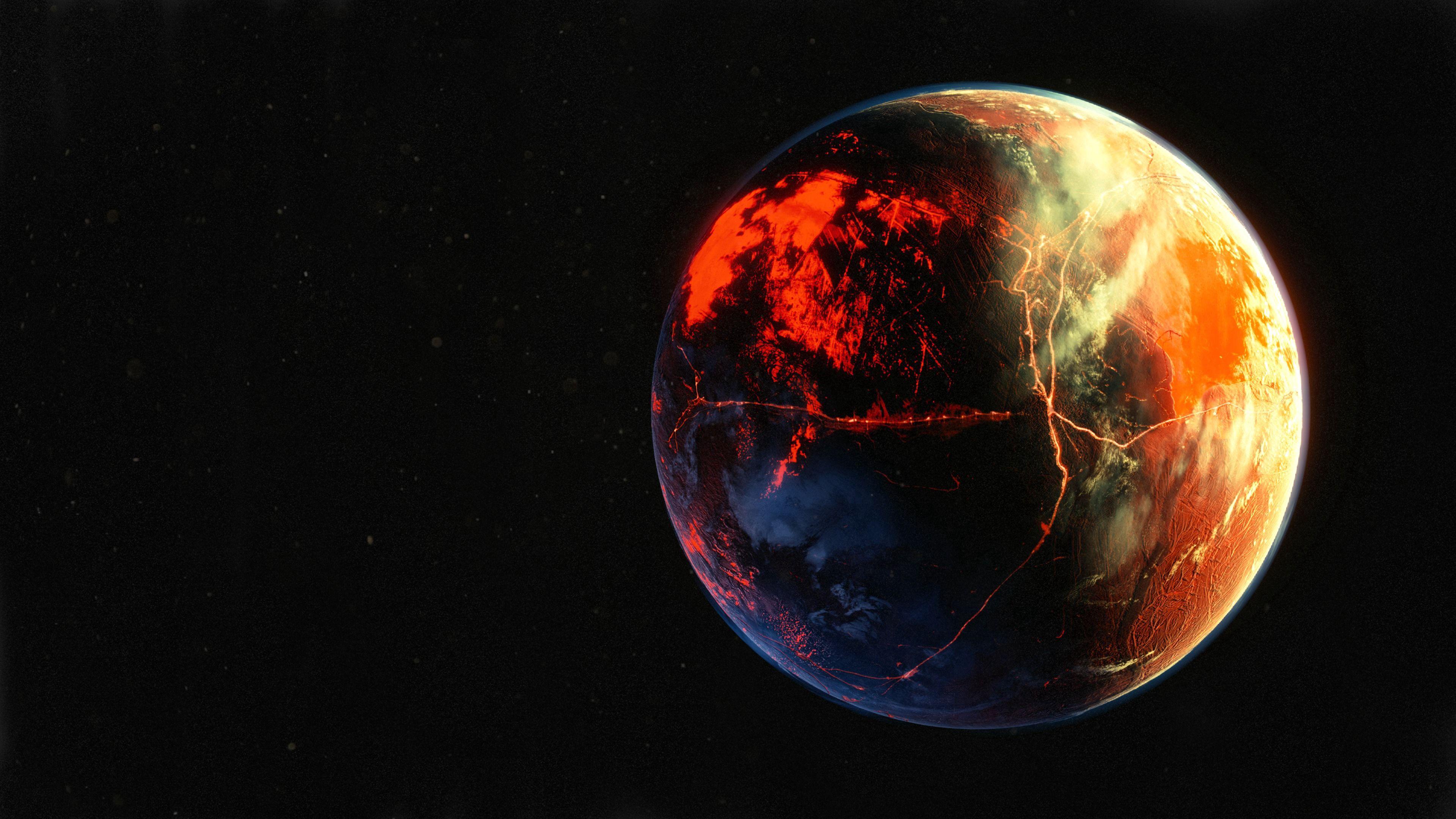 116396 скачать обои Поверхность, Космос, Планета, Атмосфера, Открытый Космос - заставки и картинки бесплатно