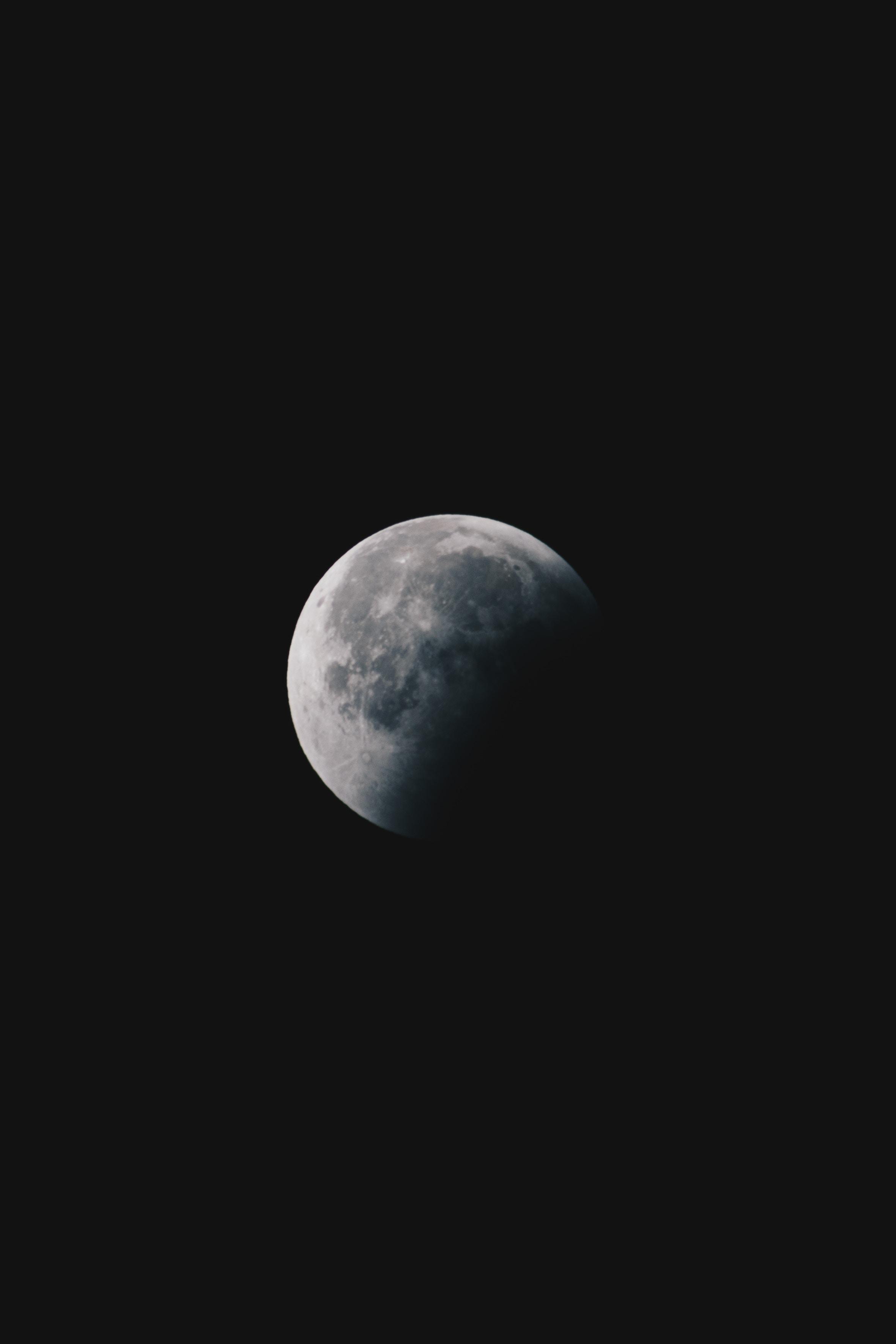 116967 Protetores de tela e papéis de parede Lua em seu telefone. Baixe Céu, Universo, Noite, Lua, Trevas, Escuridão, Lua Cheia fotos gratuitamente