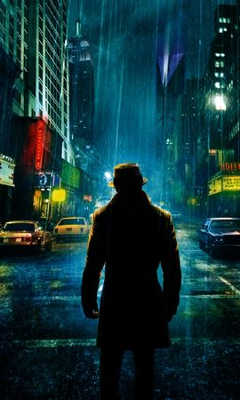 5729 download wallpaper Cinema, Landscape, Cities, Night, Watchmen screensavers and pictures for free