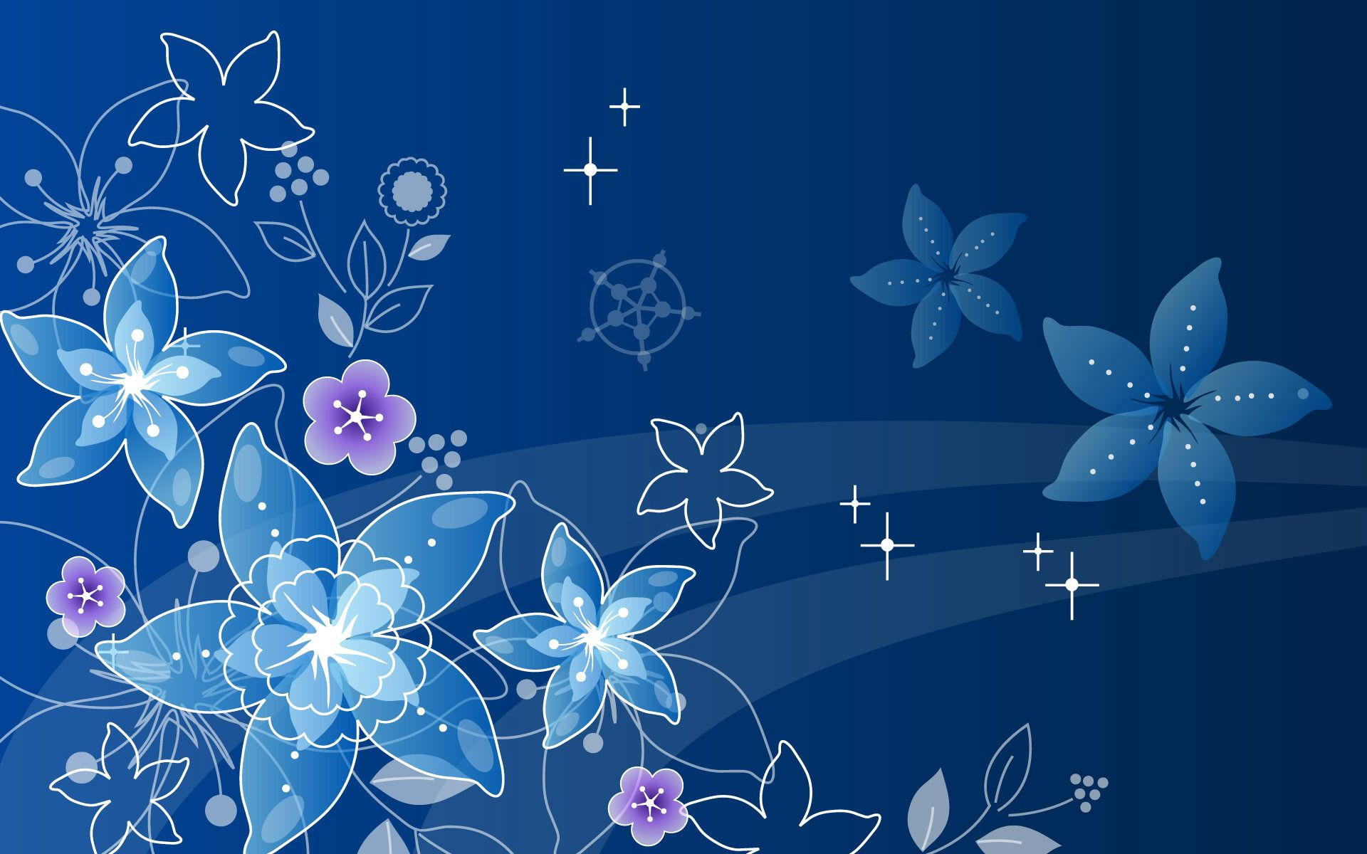 156144 download wallpaper Abstract, Pattern, Flowers screensavers and pictures for free