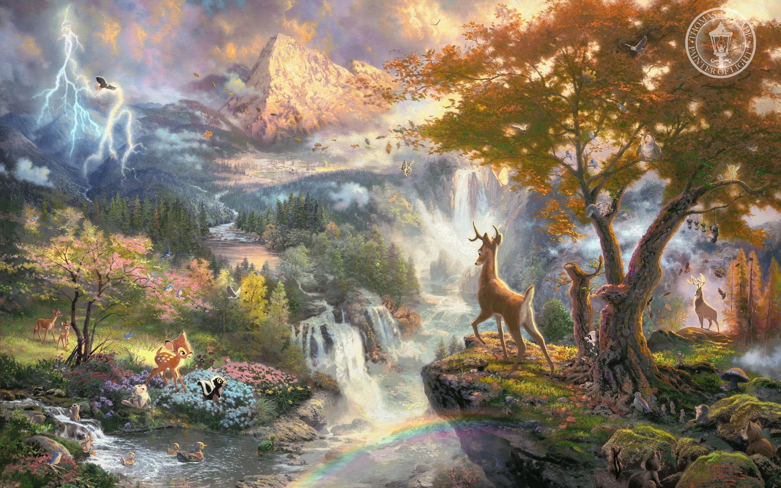 27722 Hintergrundbild herunterladen Bilder, Tiere, Landschaft, Bäume, Wasserfälle, Wild - Bildschirmschoner und Bilder kostenlos