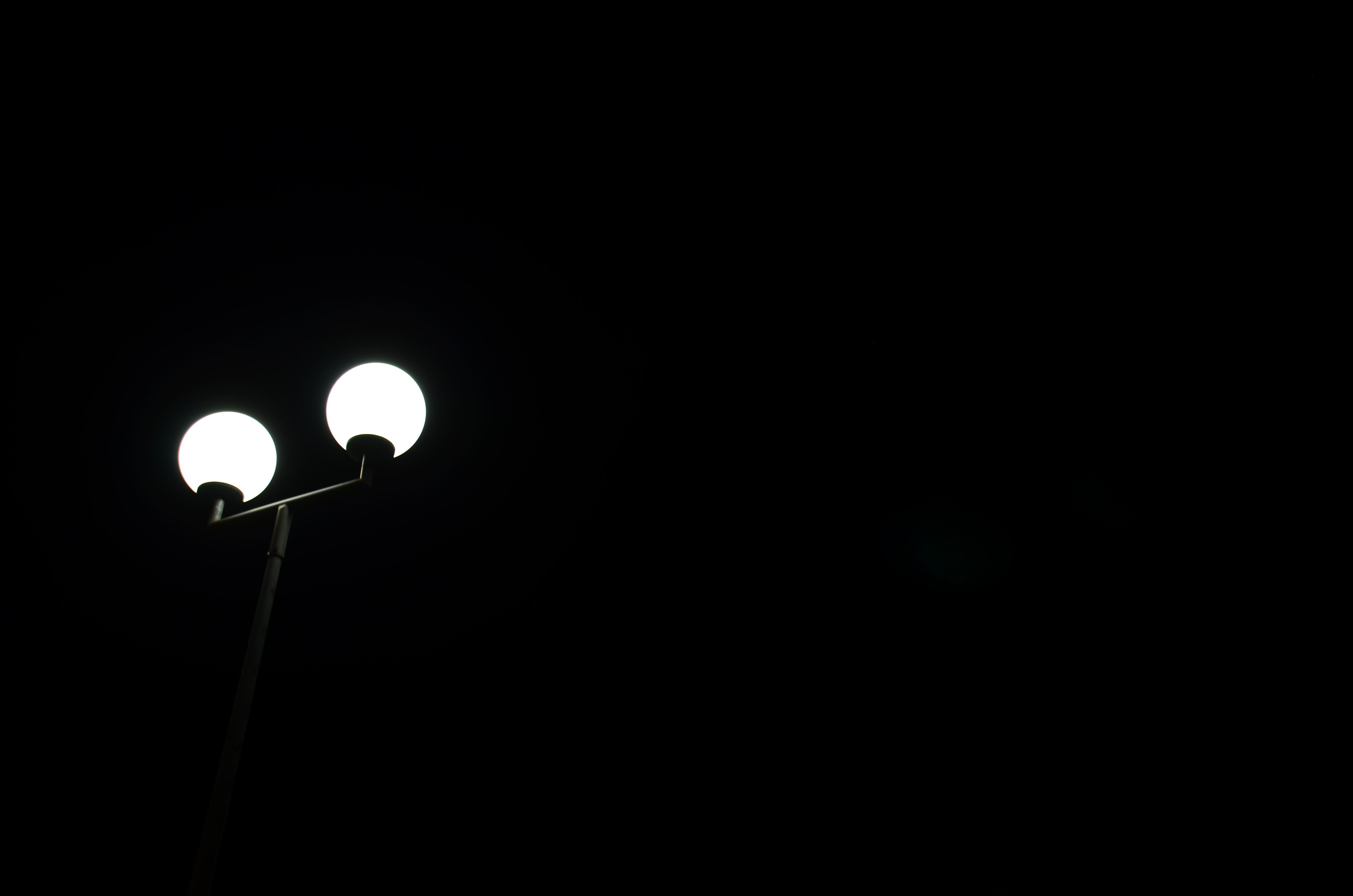 112952 Screensavers and Wallpapers Balls for phone. Download Night, Shine, Light, Minimalism, Lamp, Lantern, Bw, Chb, Balls pictures for free