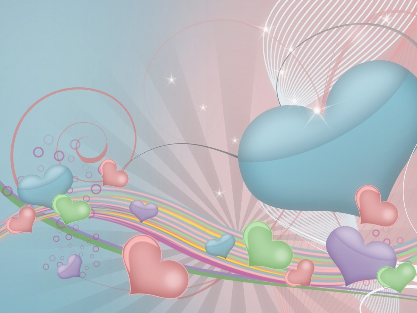 27150 download wallpaper Holidays, Background, Hearts, Valentine's Day screensavers and pictures for free