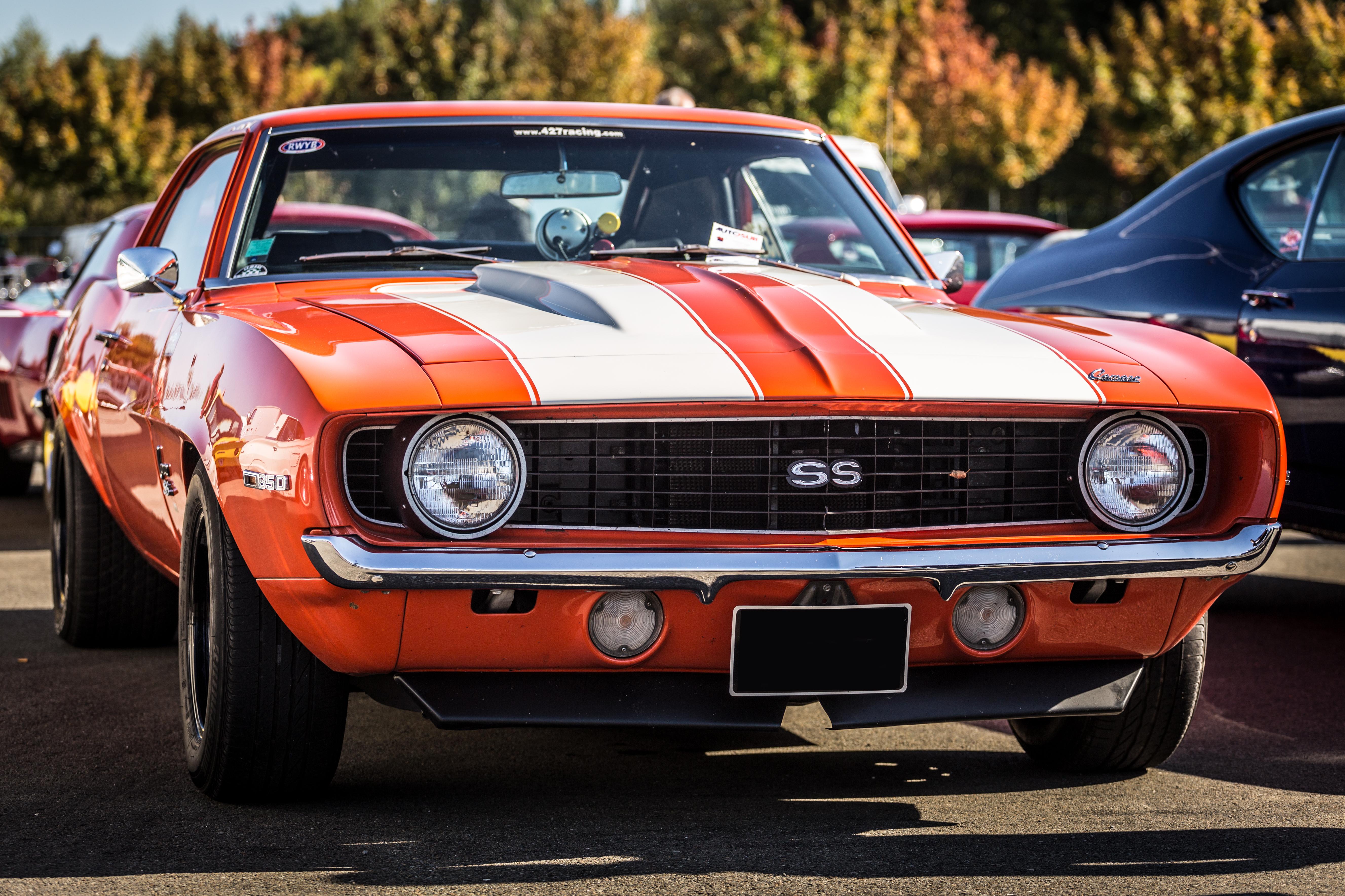 102933 Hintergrundbild 240x400 kostenlos auf deinem Handy, lade Bilder Chevrolet, Cars, Vorderansicht, Frontansicht, Camaro, Ss 240x400 auf dein Handy herunter