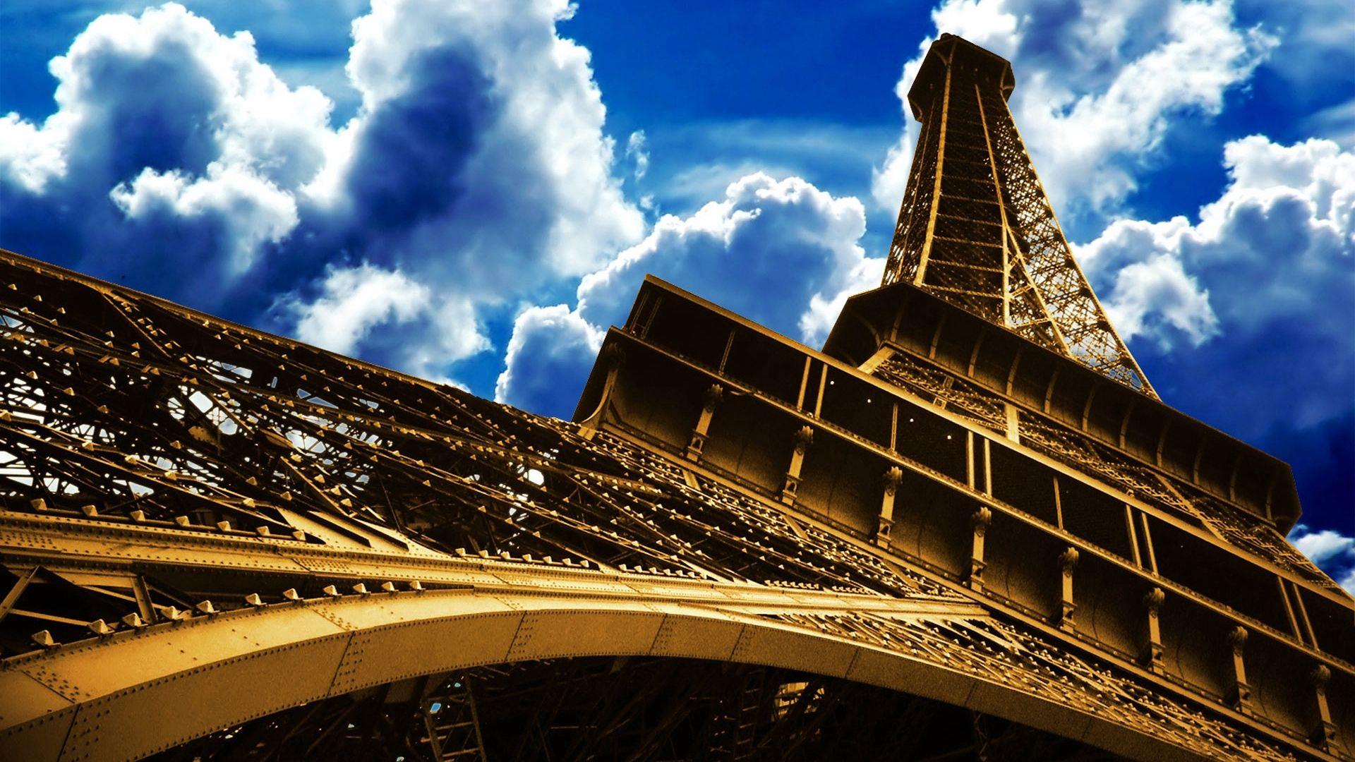 56512 télécharger le fond d'écran Paris, France, Sky, Villes, Tour Eiffel - économiseurs d'écran et images gratuitement