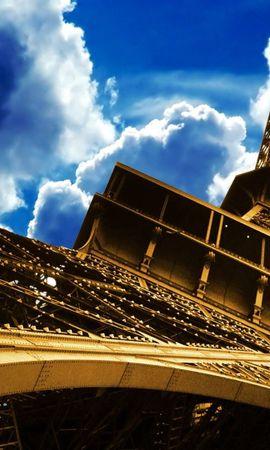 56512 baixar papel de parede Paris, França, Céu, Cidades, Torre Eiffel - protetores de tela e imagens gratuitamente
