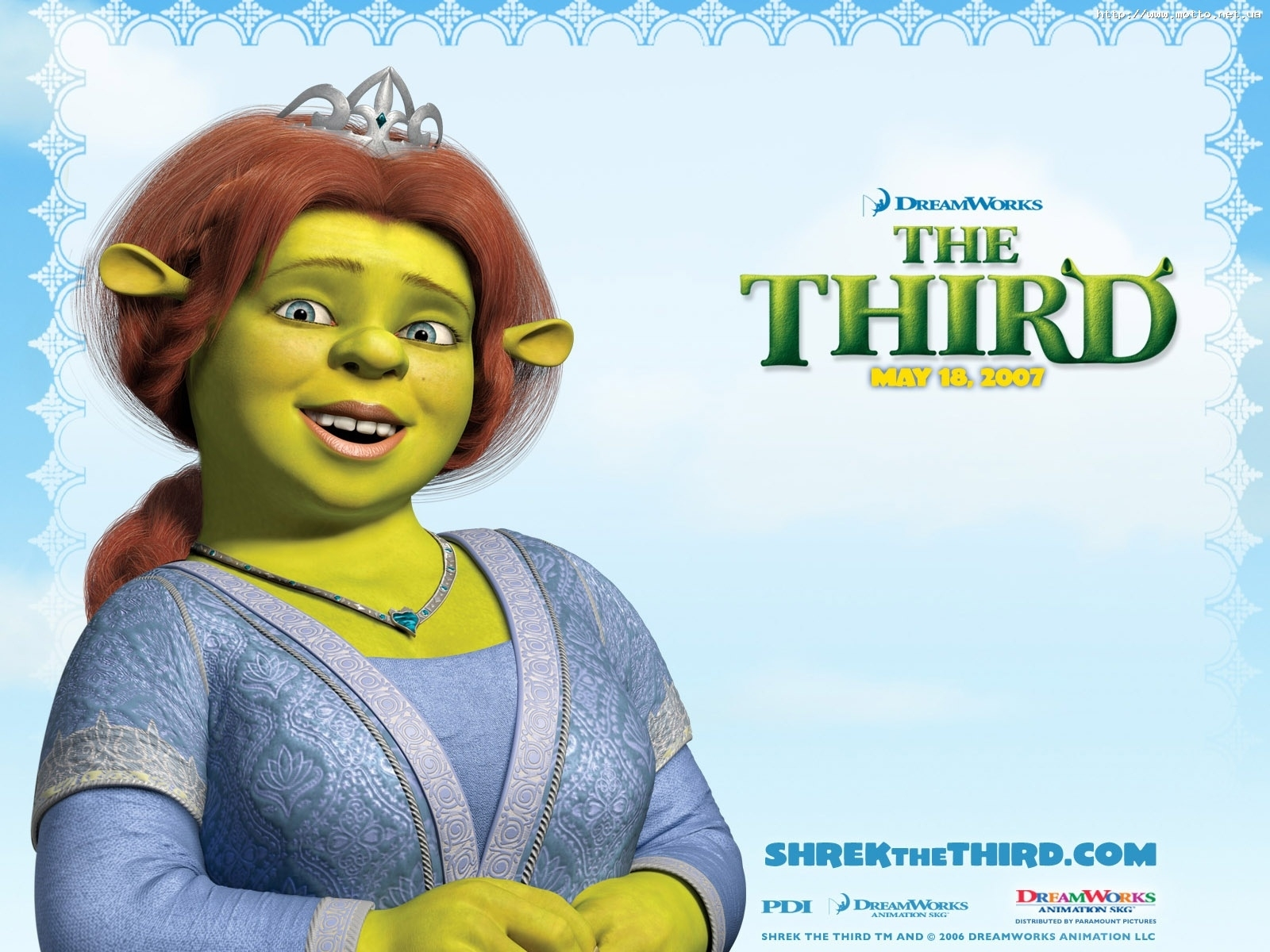3383 download wallpaper Cartoon, Shrek, Fiona screensavers and pictures for free