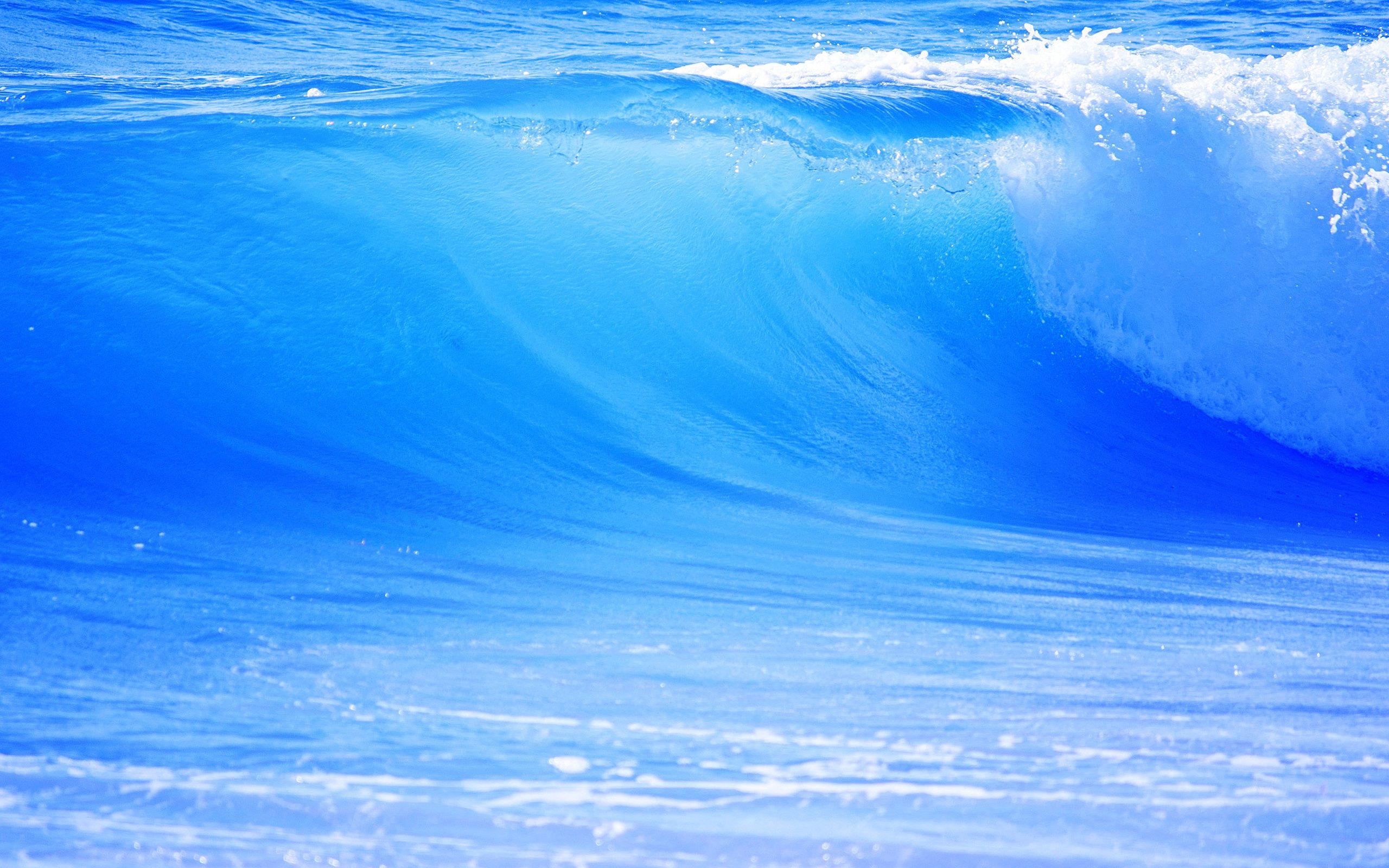 82866 скачать обои Природа, Море, Волна, Голубая, Большая - заставки и картинки бесплатно